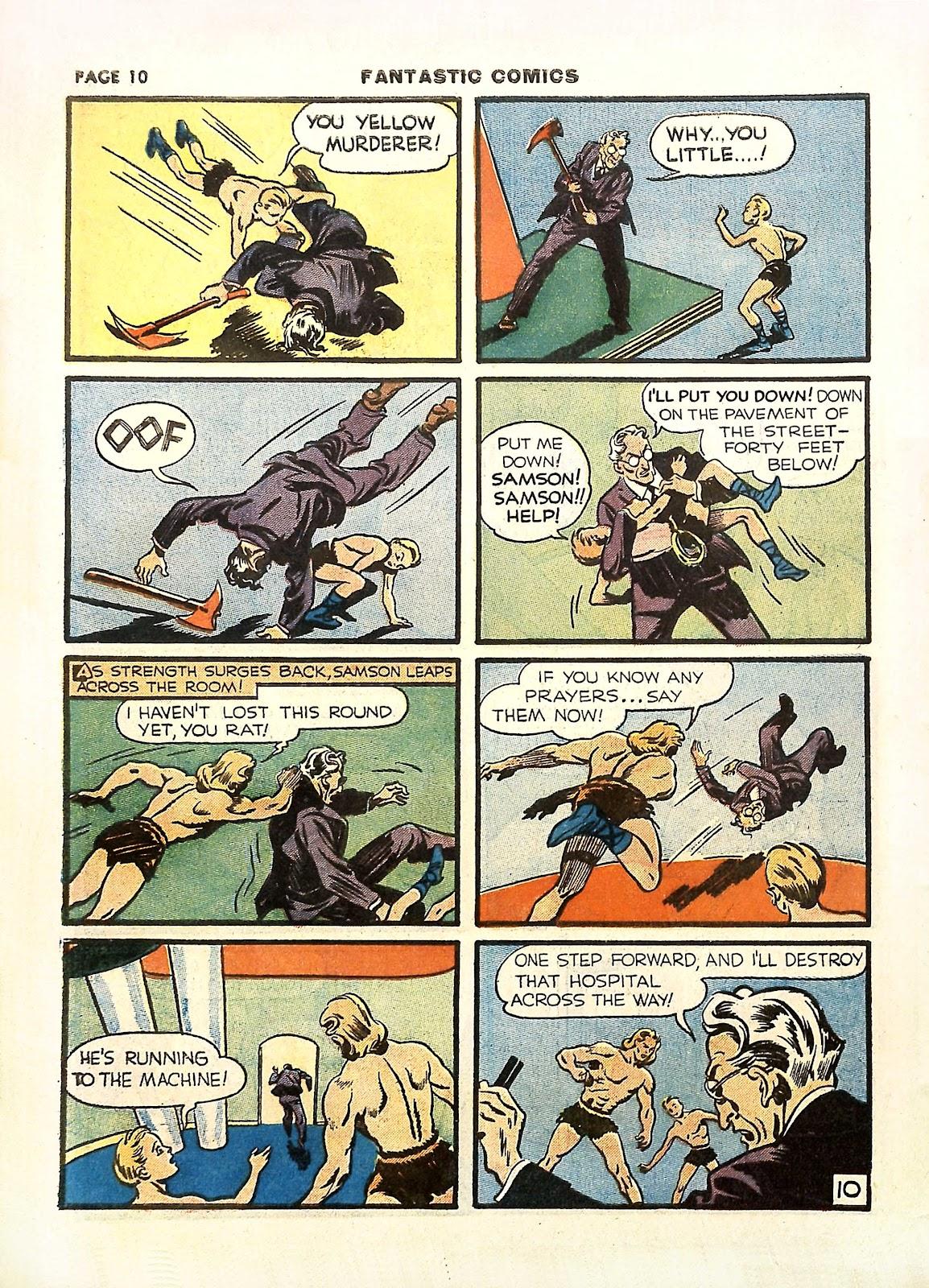 Read online Fantastic Comics comic -  Issue #11 - 13