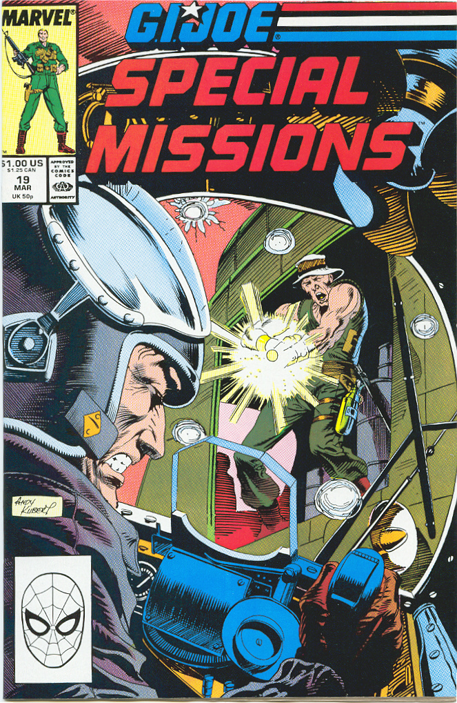 G.I. Joe Special Missions 19 Page 1