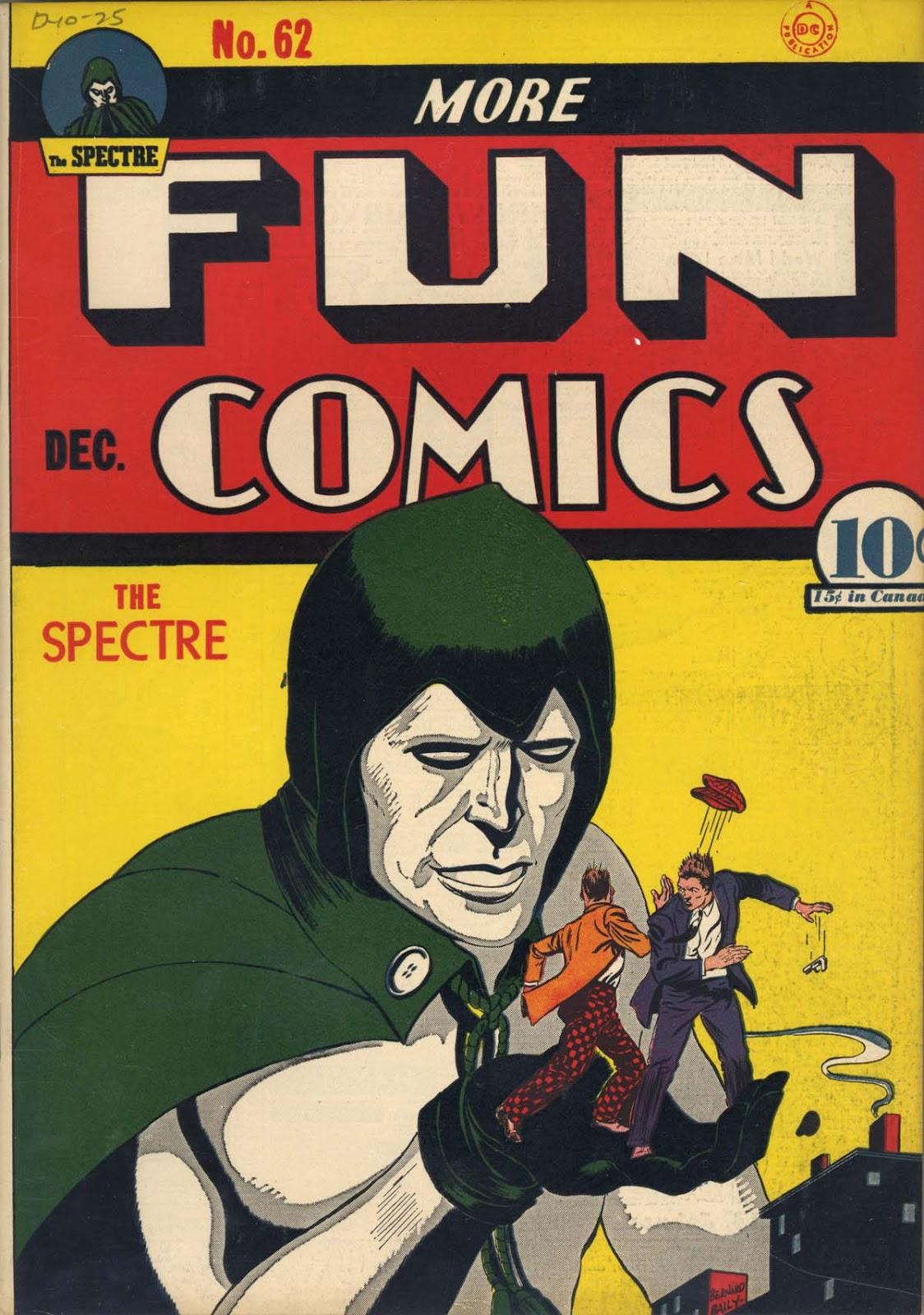 More Fun Comics 62 Page 1