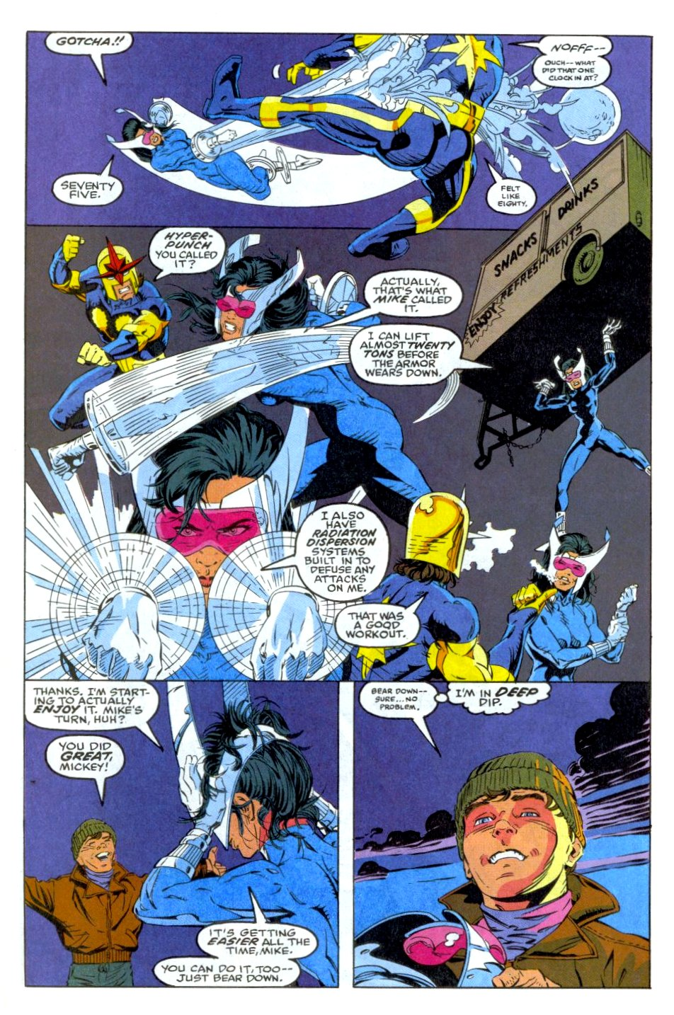 The New Warriors Issue #35 #39 - English 9