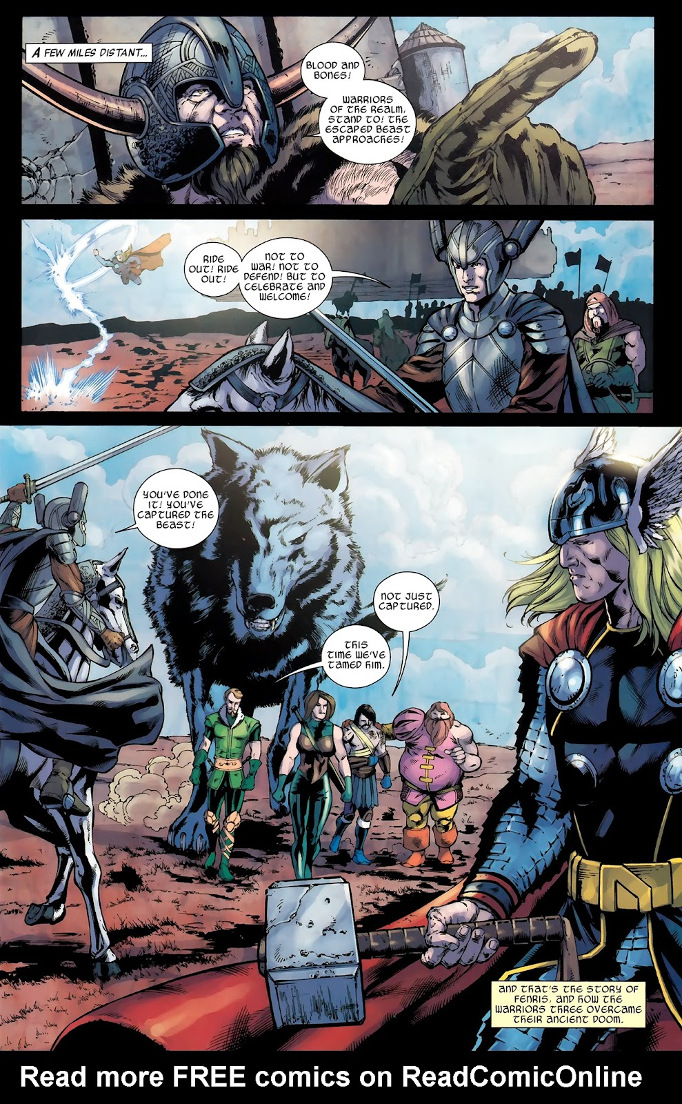 Warriors Three Issue #4 #4 - English 22