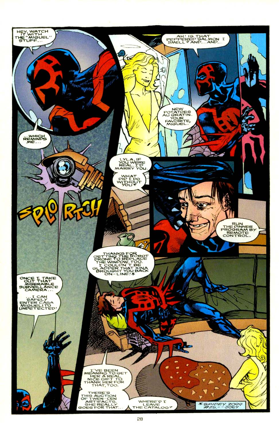 Read online 2099 Unlimited comic -  Issue #8 - 25