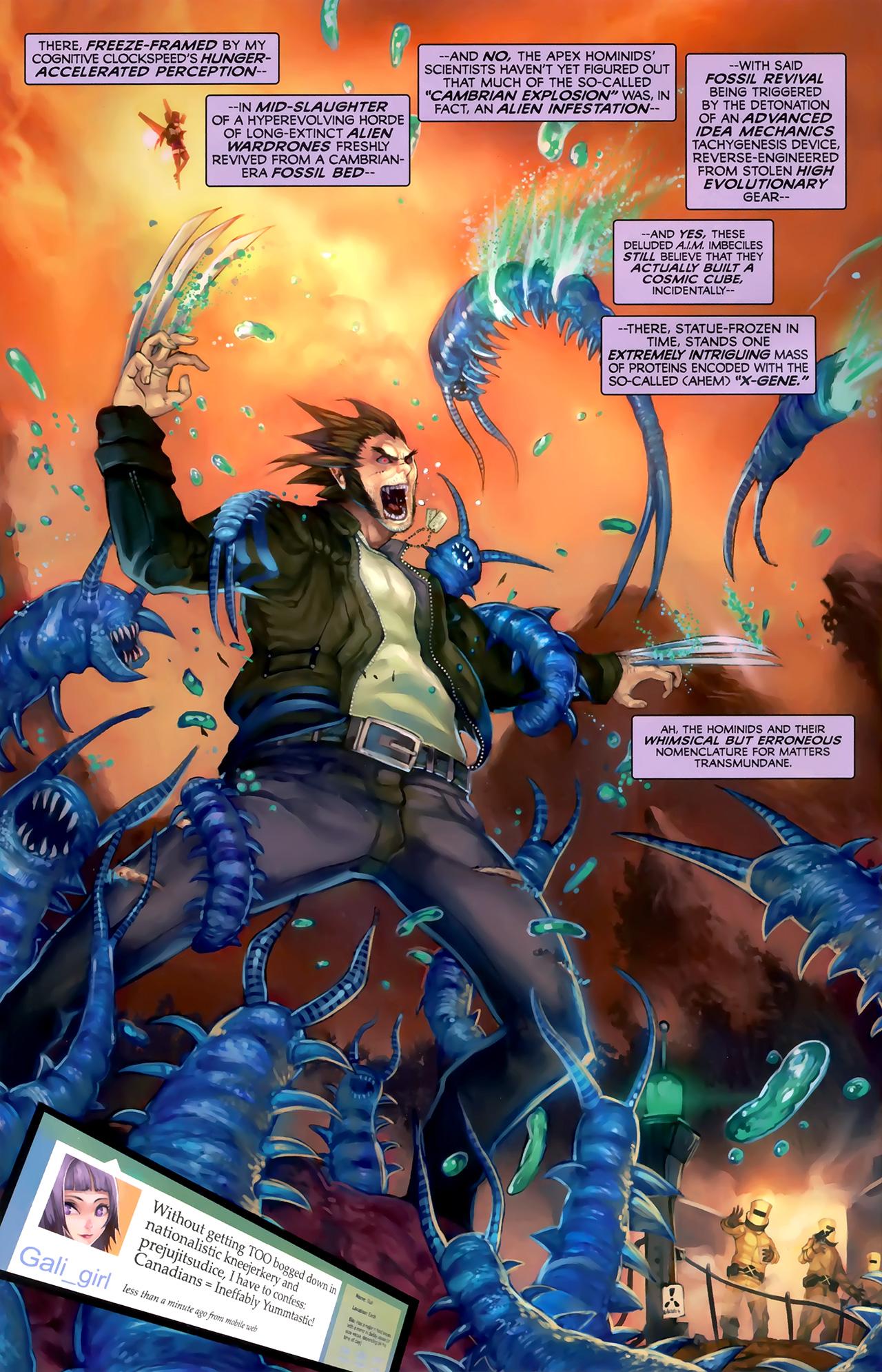 Read online Galacta: Daughter of Galactus comic -  Issue # Full - 14