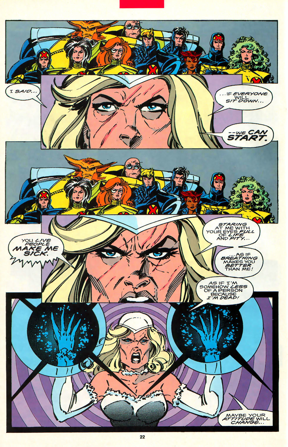Read online Alpha Flight (1983) comic -  Issue #107 - 17