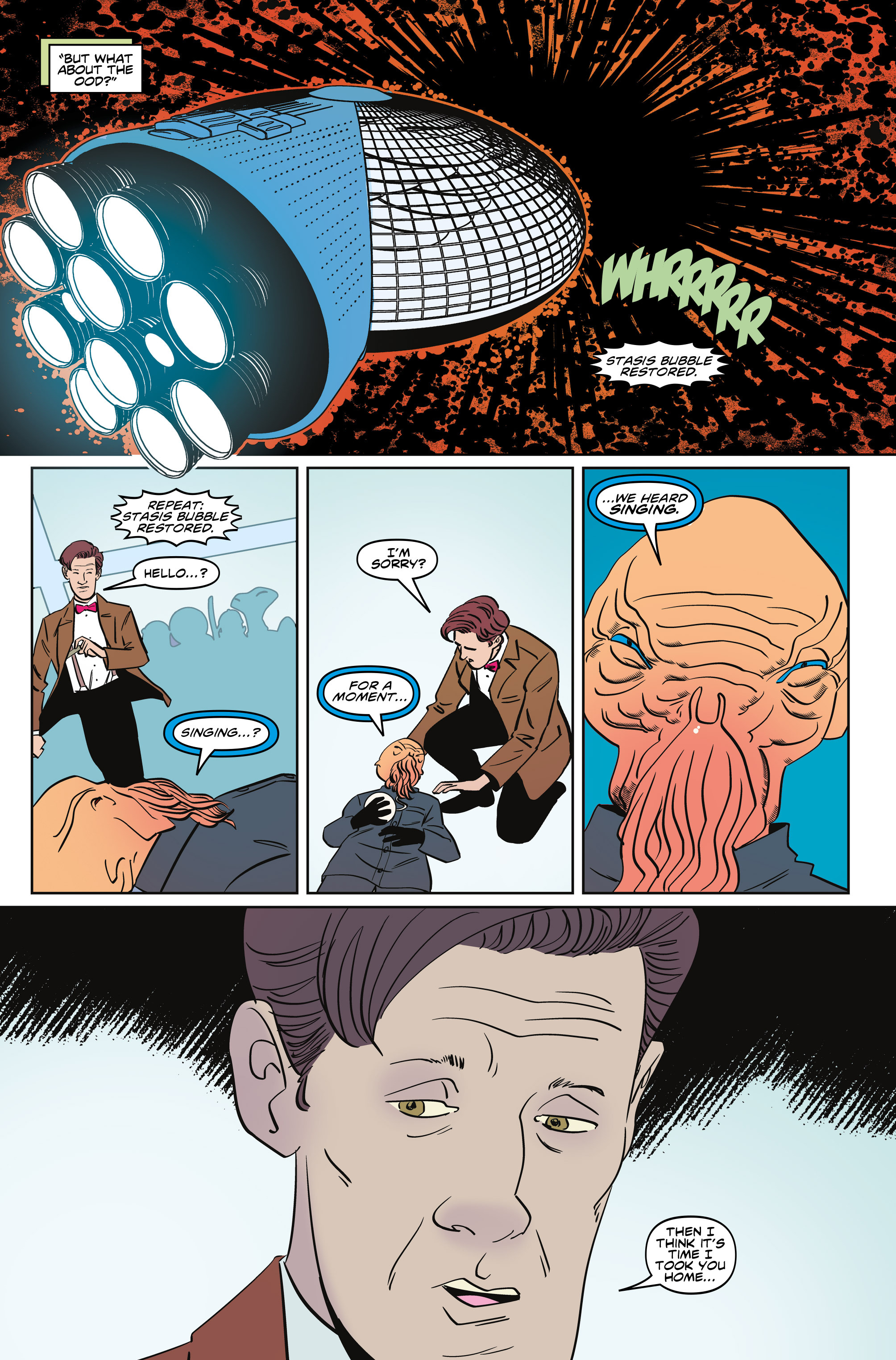 Read online Doctor Who: The Eleventh Doctor Year Three comic -  Issue #5 - 25