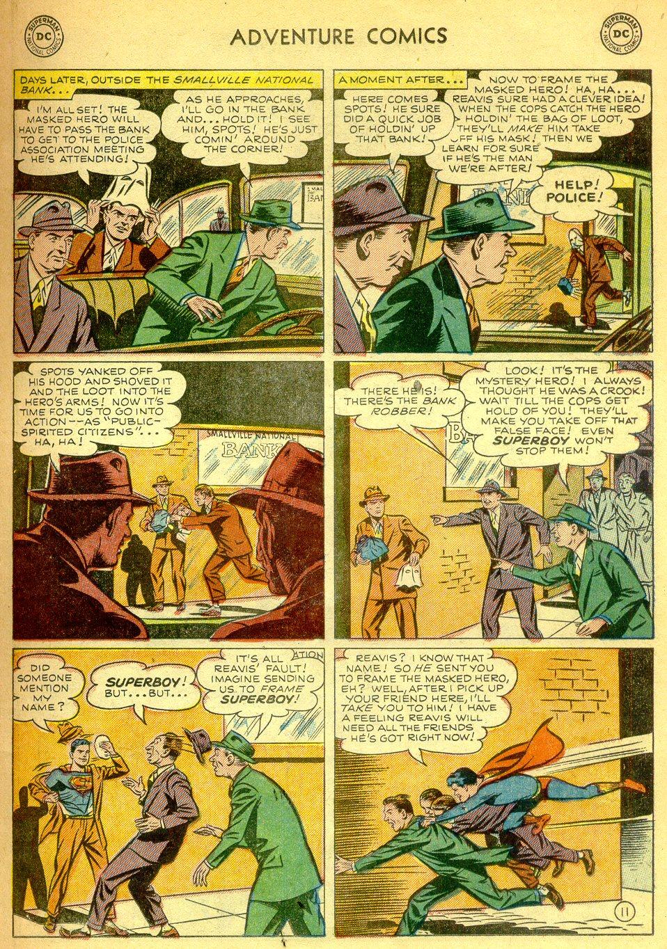 Read online Adventure Comics (1938) comic -  Issue #181 - 12