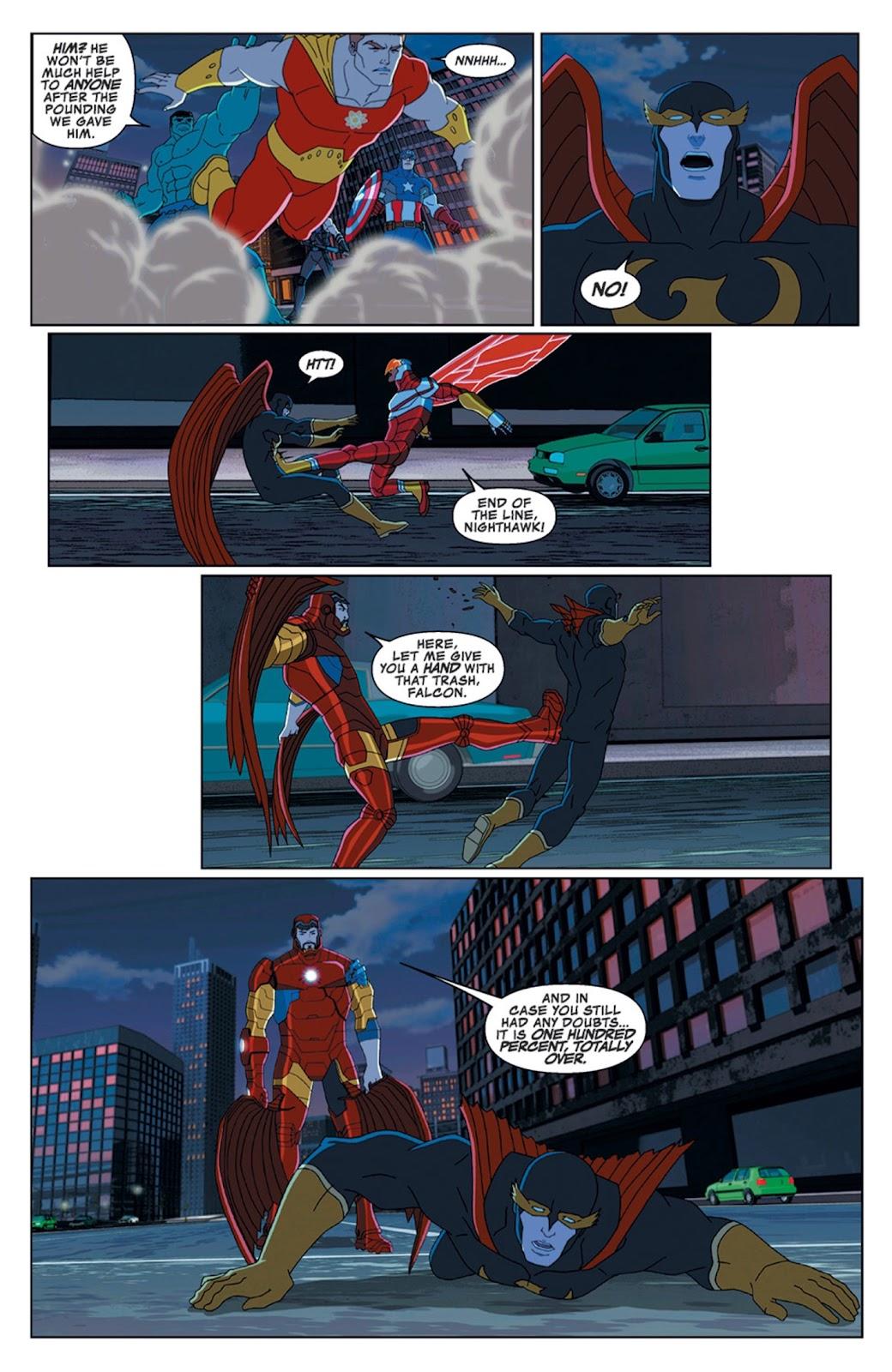 Read online Marvel Universe Avengers Assemble Season 2 comic -  Issue #14 - 27