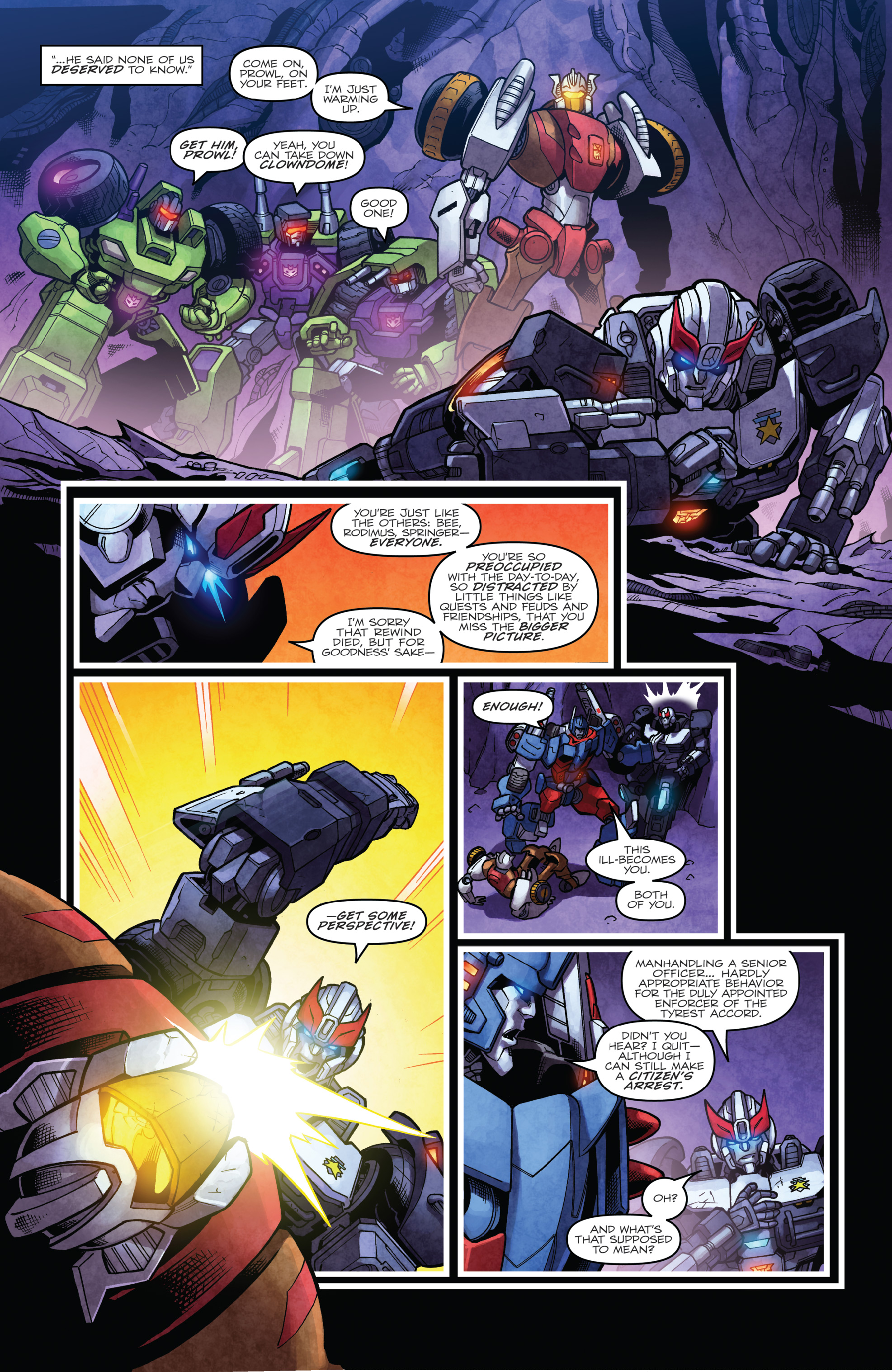 Read online The Transformers: Dark Cybertron Finale comic -  Issue # Full - 94