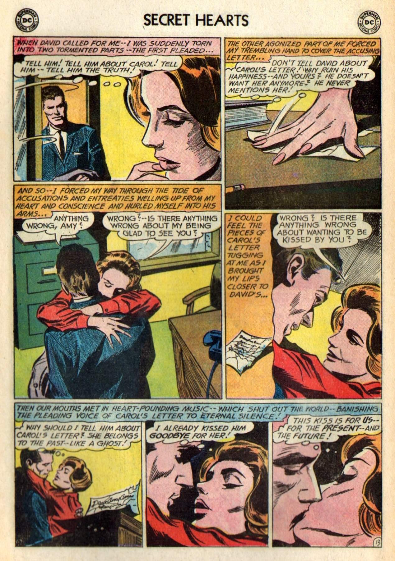 Read online Secret Hearts comic -  Issue #98 - 32