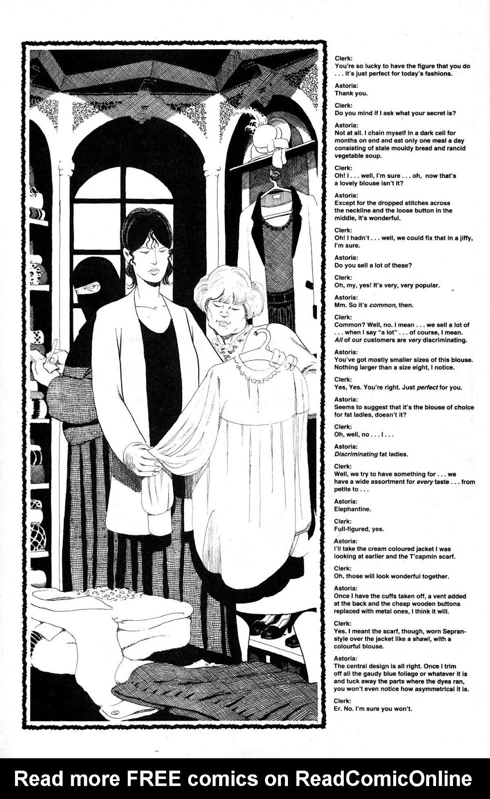 Cerebus Issue #163 #162 - English 10