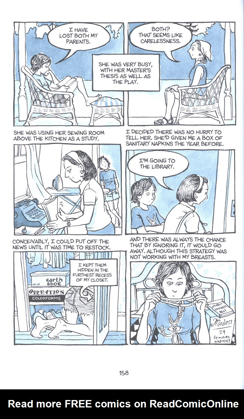 Read online Fun Home: A Family Tragicomic comic -  Issue # TPB - 164