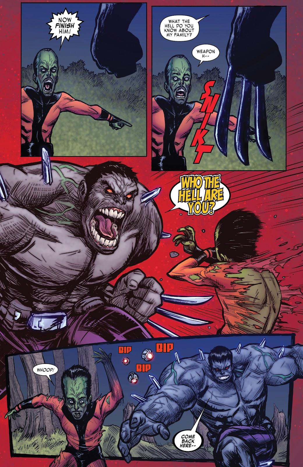 Read online Hulkverines comic -  Issue #1 - 27