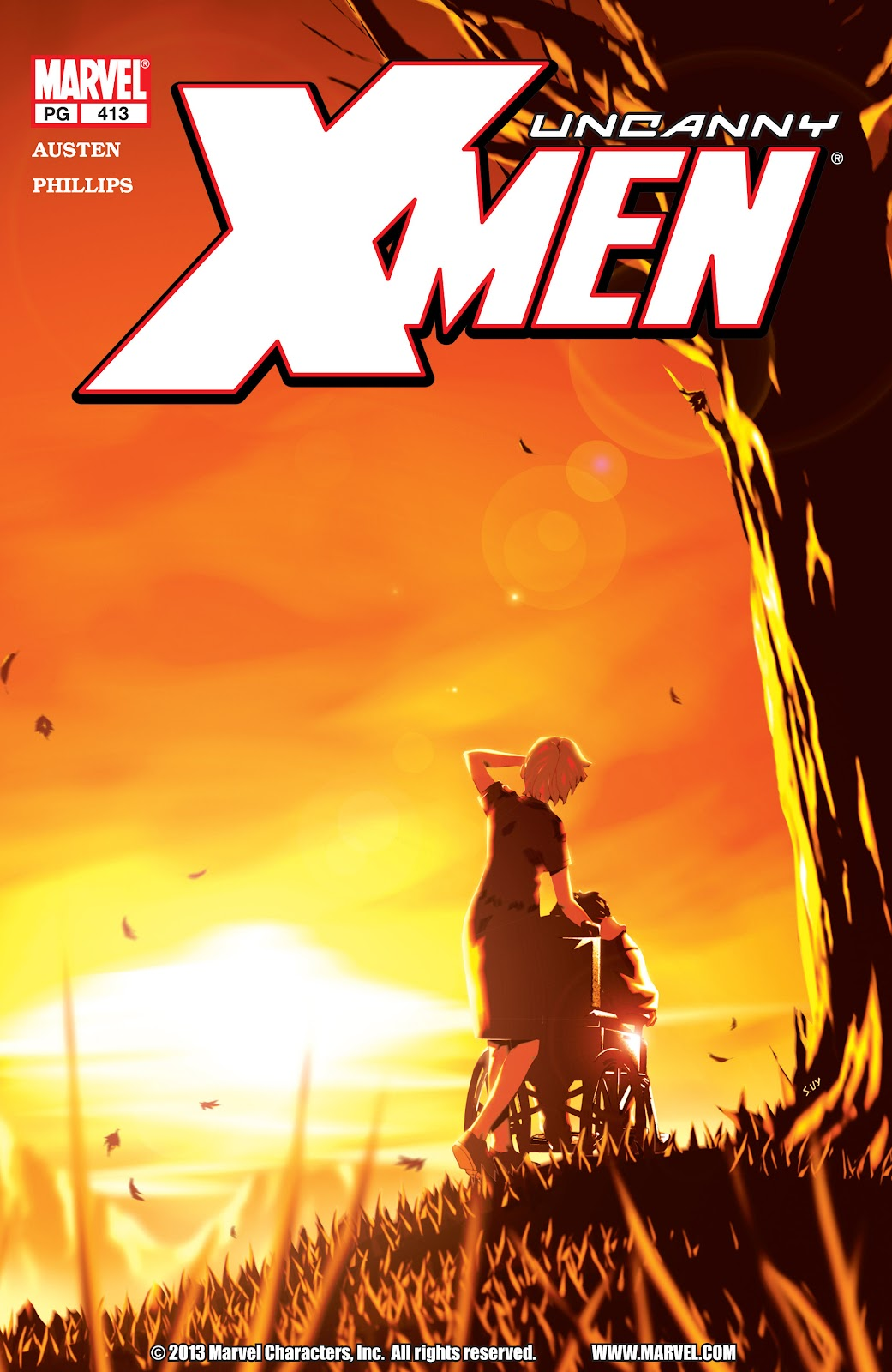 Uncanny X-Men (1963) issue 413 - Page 1