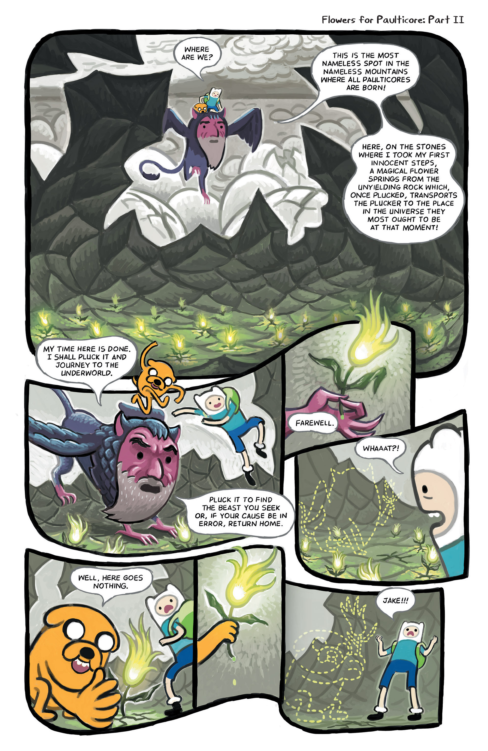 Read online Adventure Time comic -  Issue #49 - 21