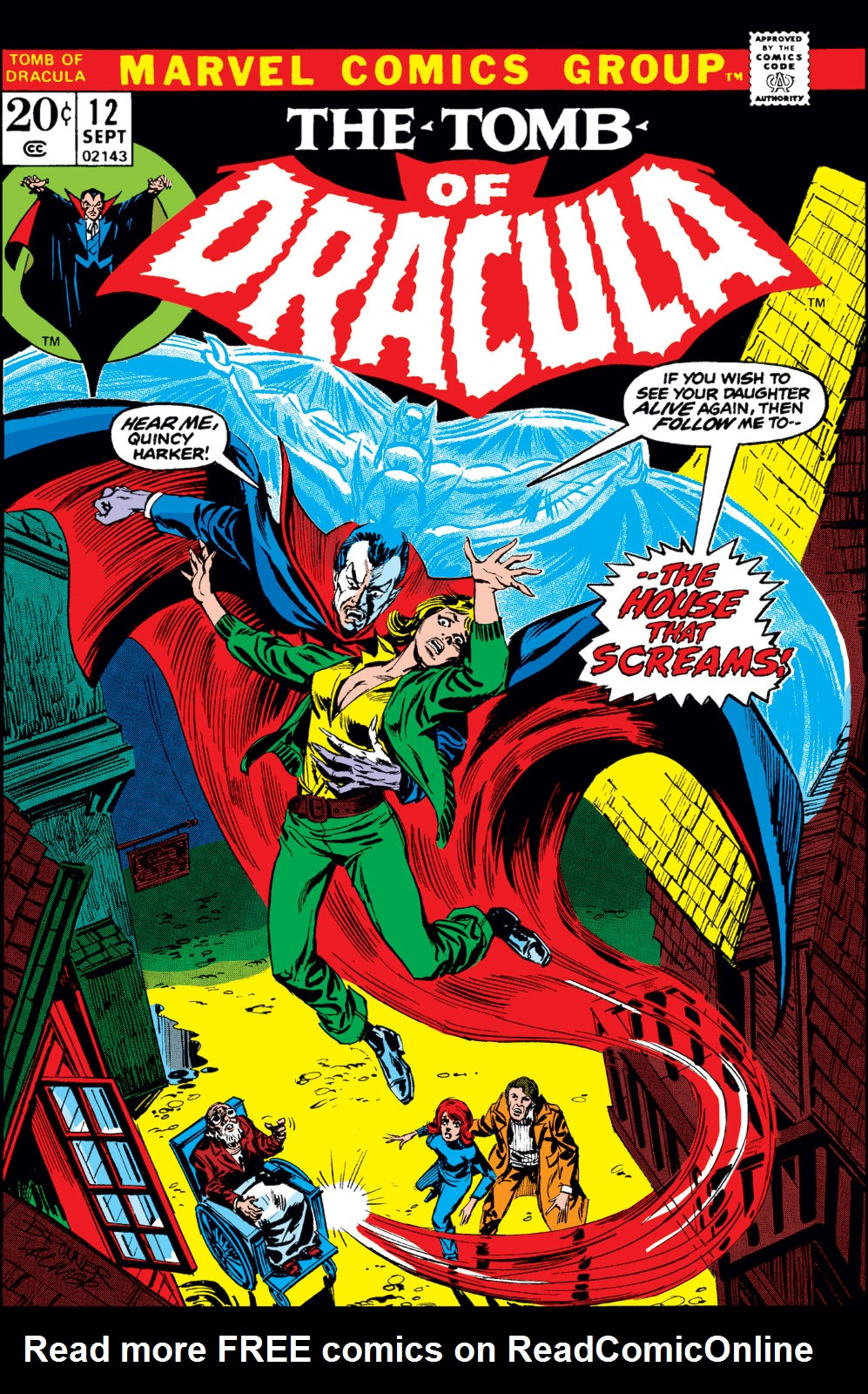Tomb of Dracula (1972) issue 12 - Page 1