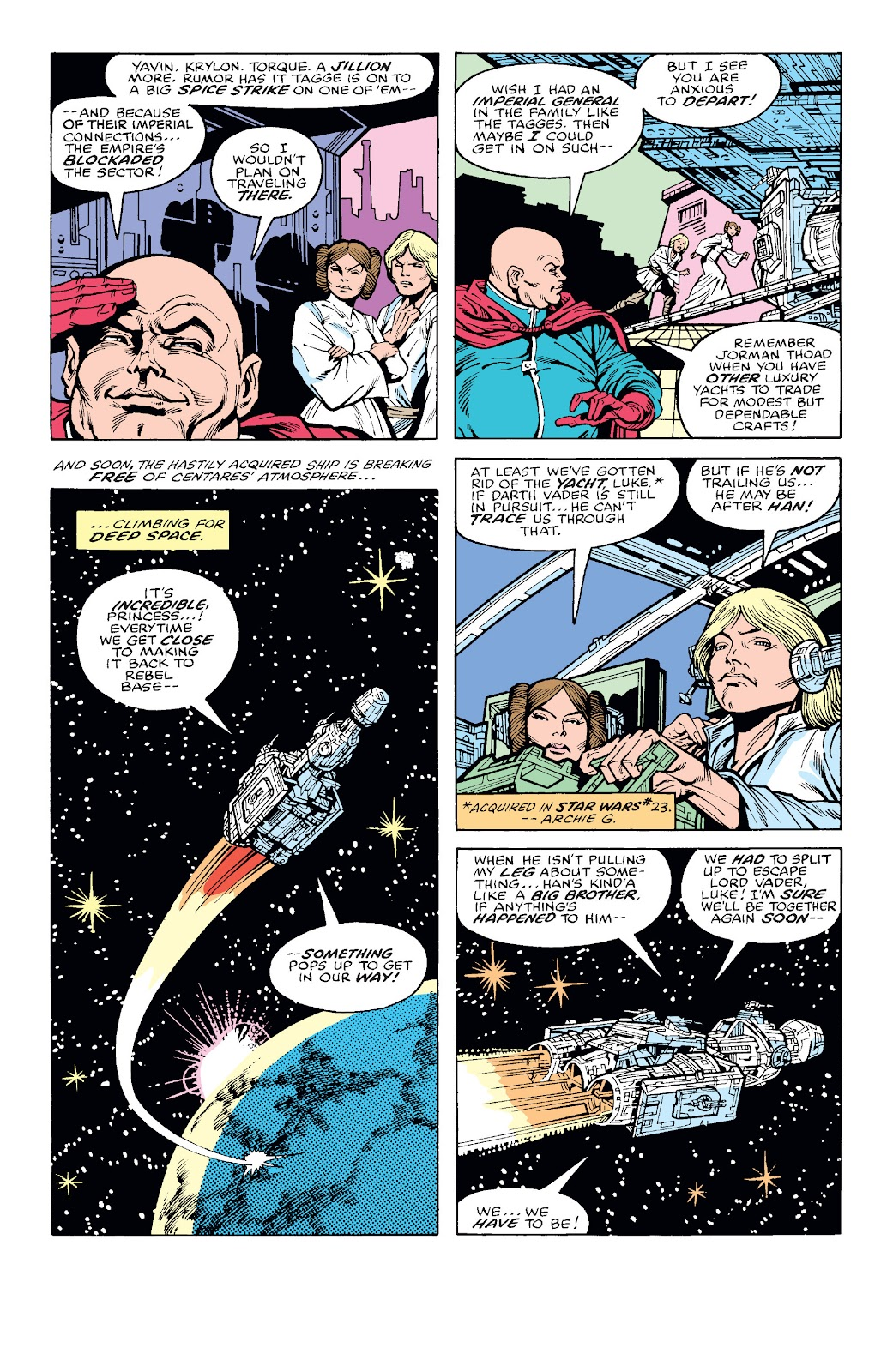 Read online Star Wars Legends: The Original Marvel Years - Epic Collection comic -  Issue # TPB 2 (Part 1) - 29