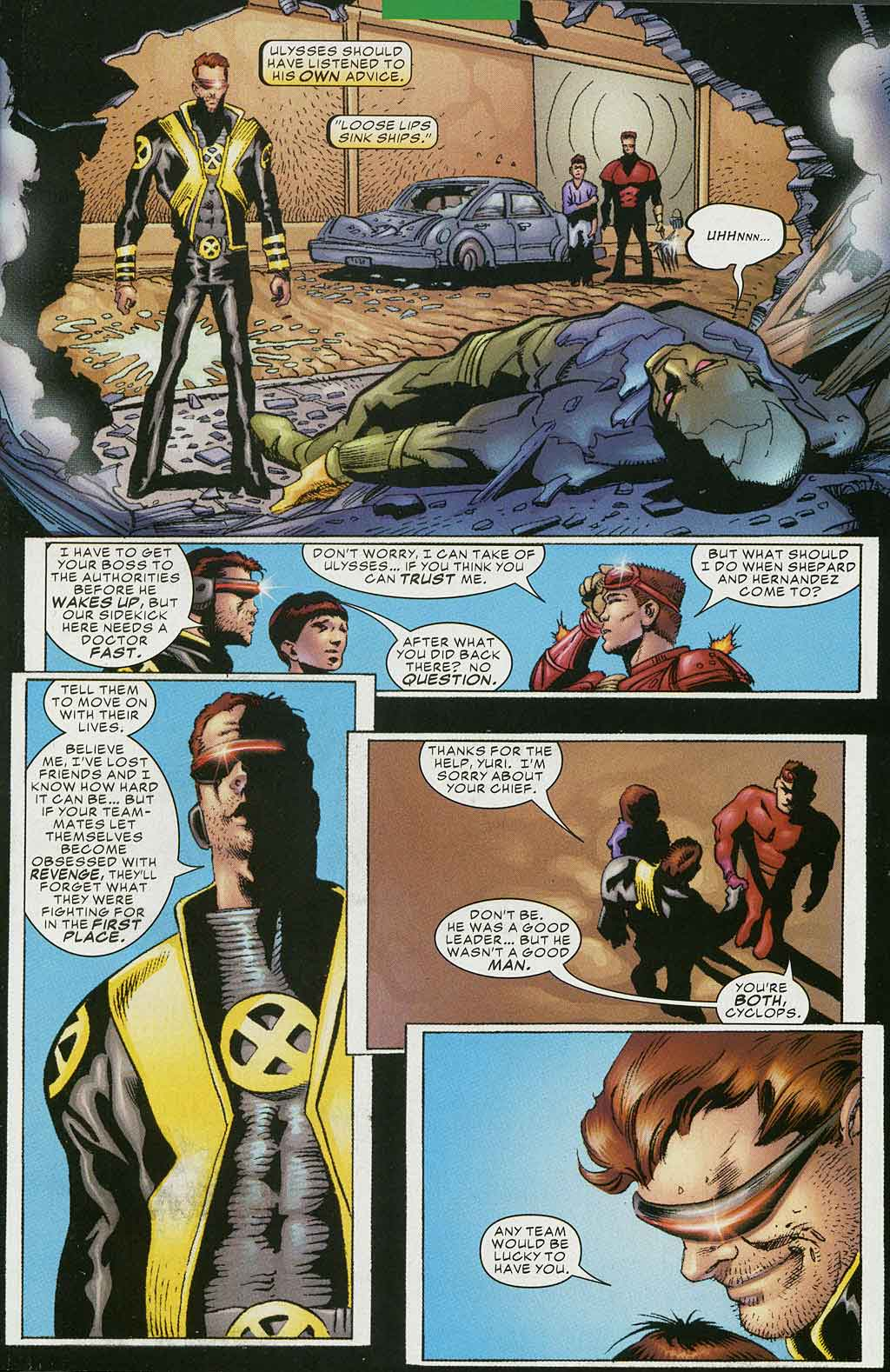 Read online Cyclops (2001) comic -  Issue #4 - 21