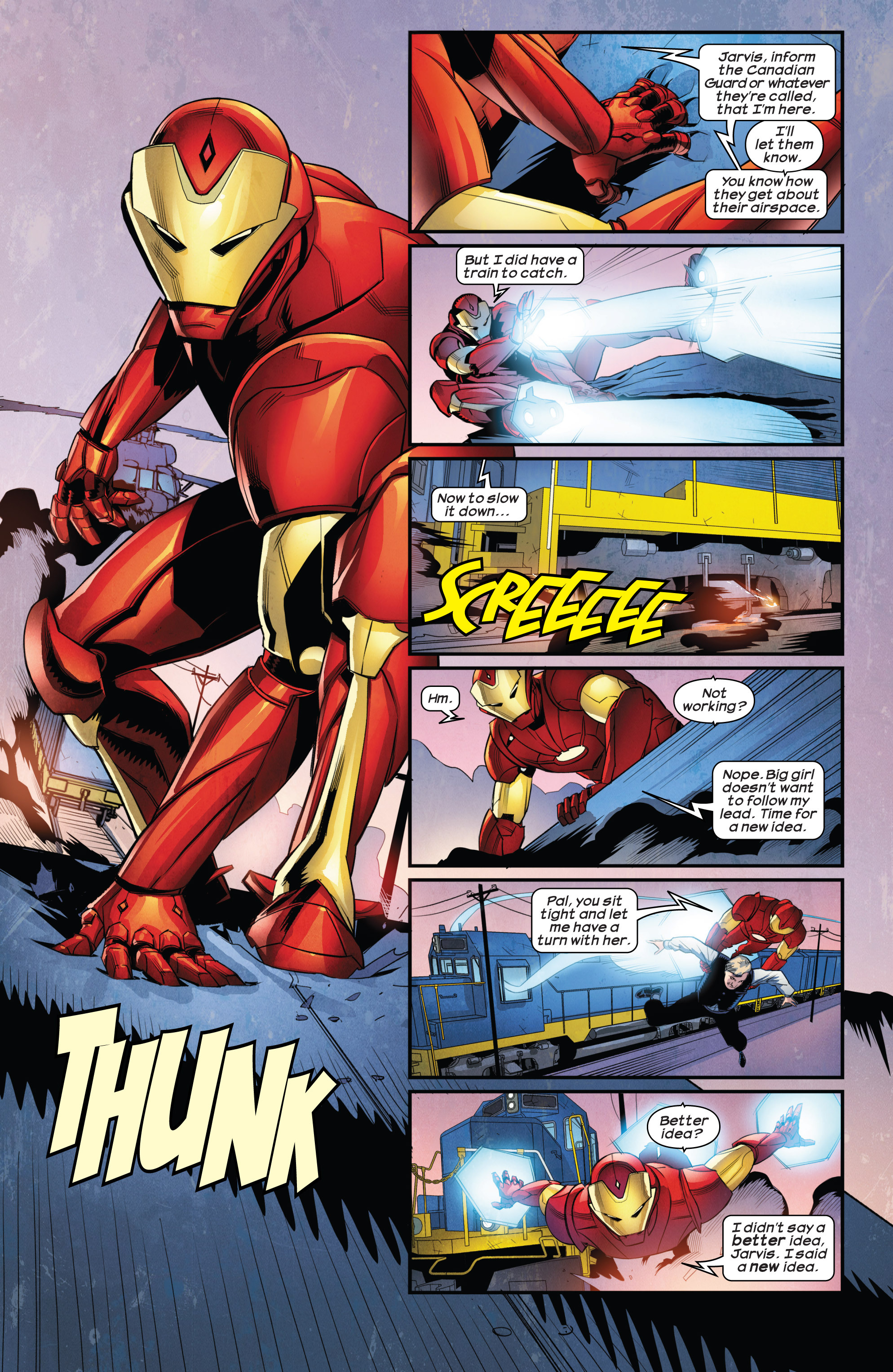 Read online Ultimate Comics Iron Man comic -  Issue #1 - 4