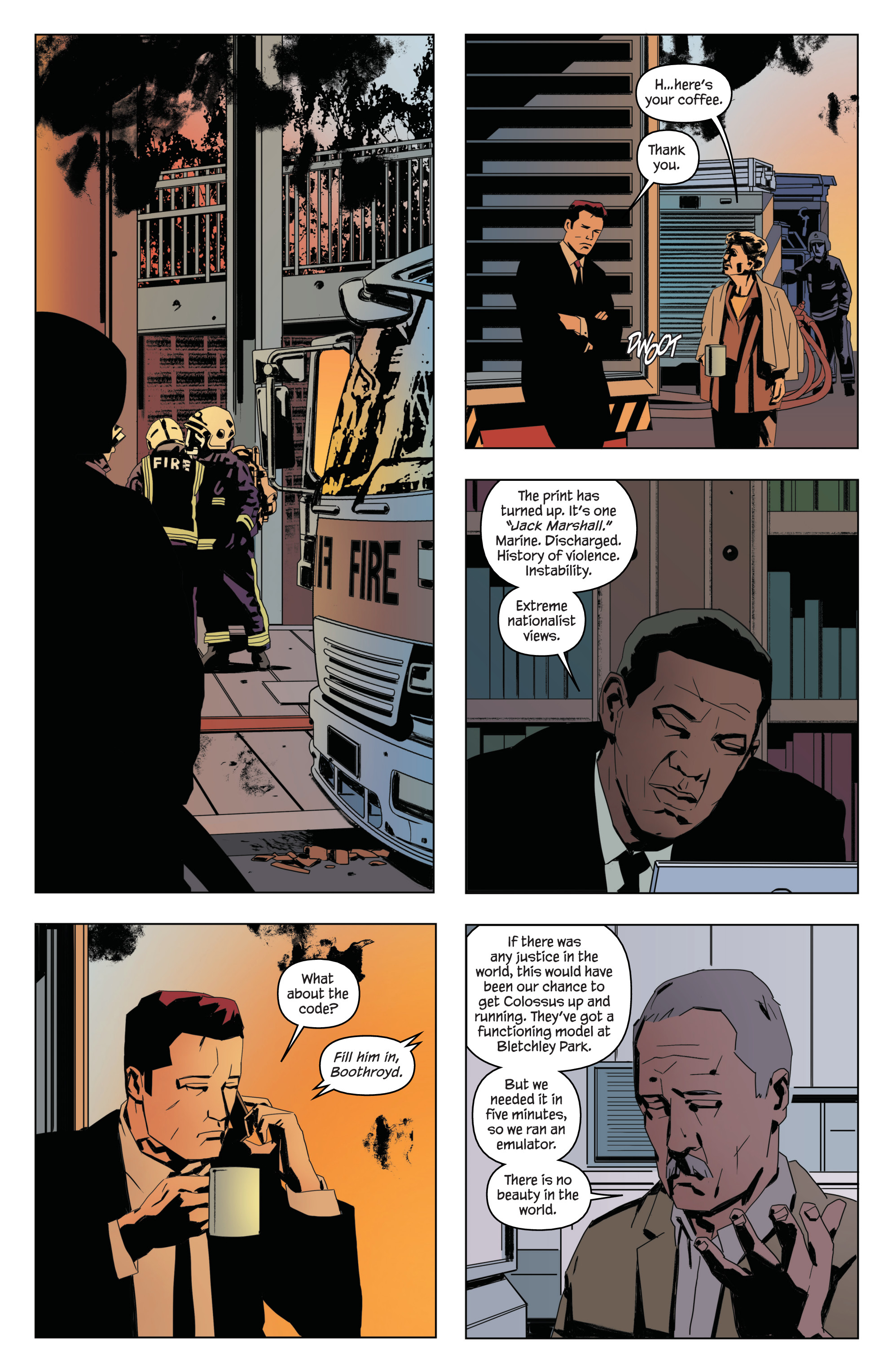 Read online James Bond: Service comic -  Issue # Full - 16