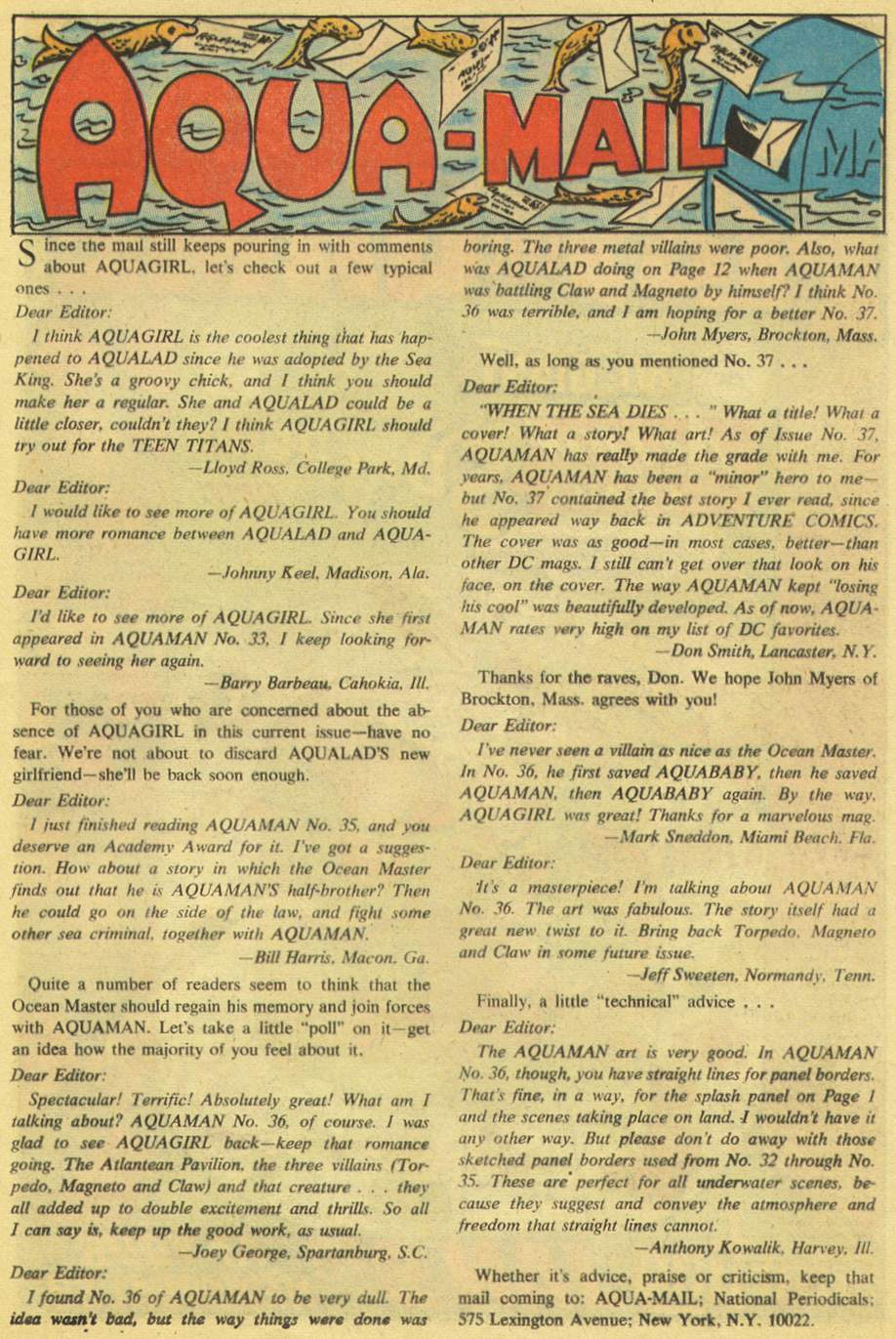 Read online Aquaman (1962) comic -  Issue #38 - 13
