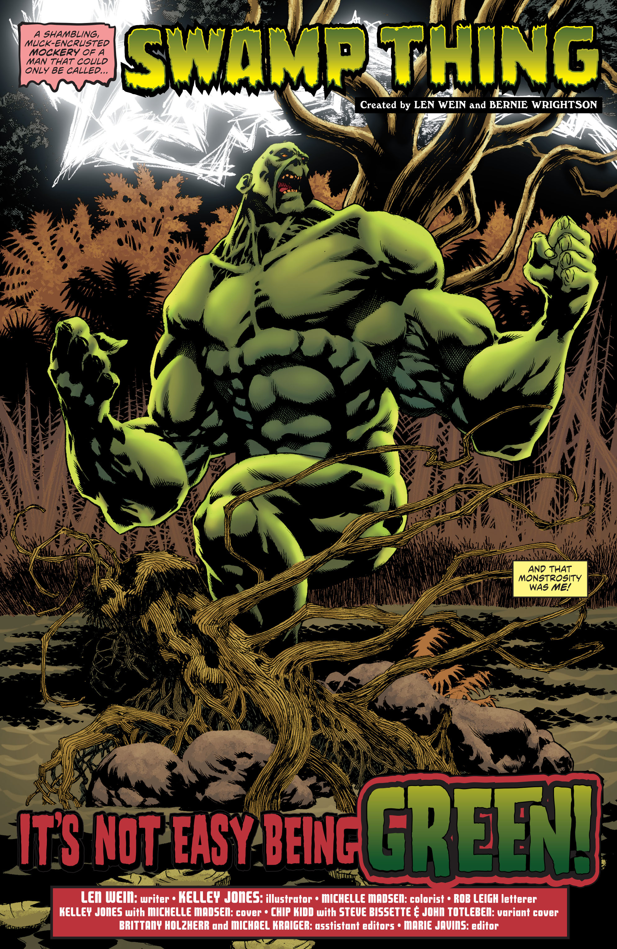 Read online Convergence Swamp Thing comic -  Issue #1 - 5
