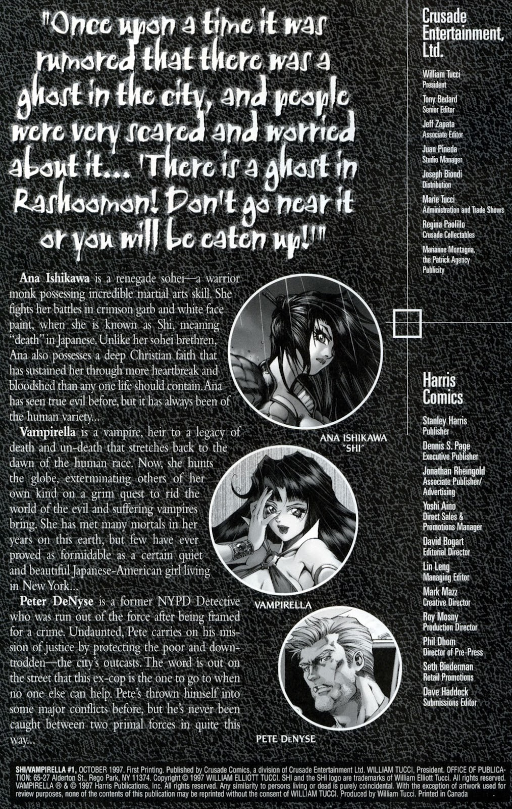 Shi/Vampirella issue Full - Page 2