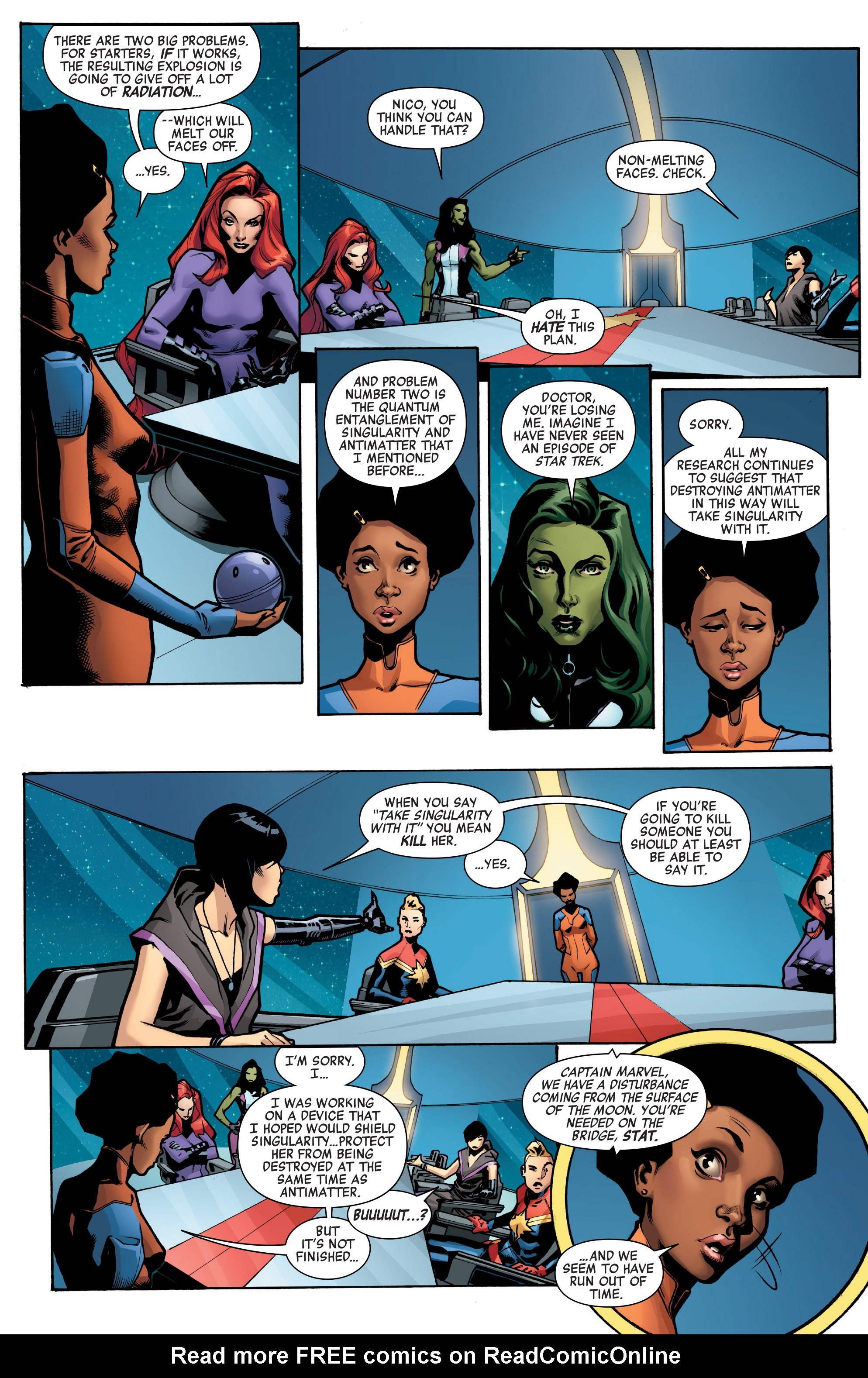 Read online A-Force (2016) comic -  Issue #4 - 4