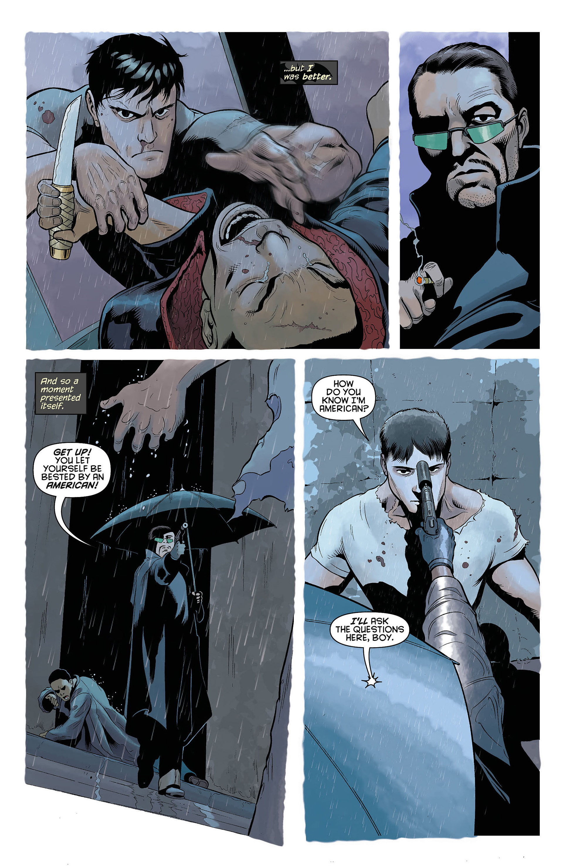 Read online Batman and Robin (2011) comic -  Issue #5 - 15