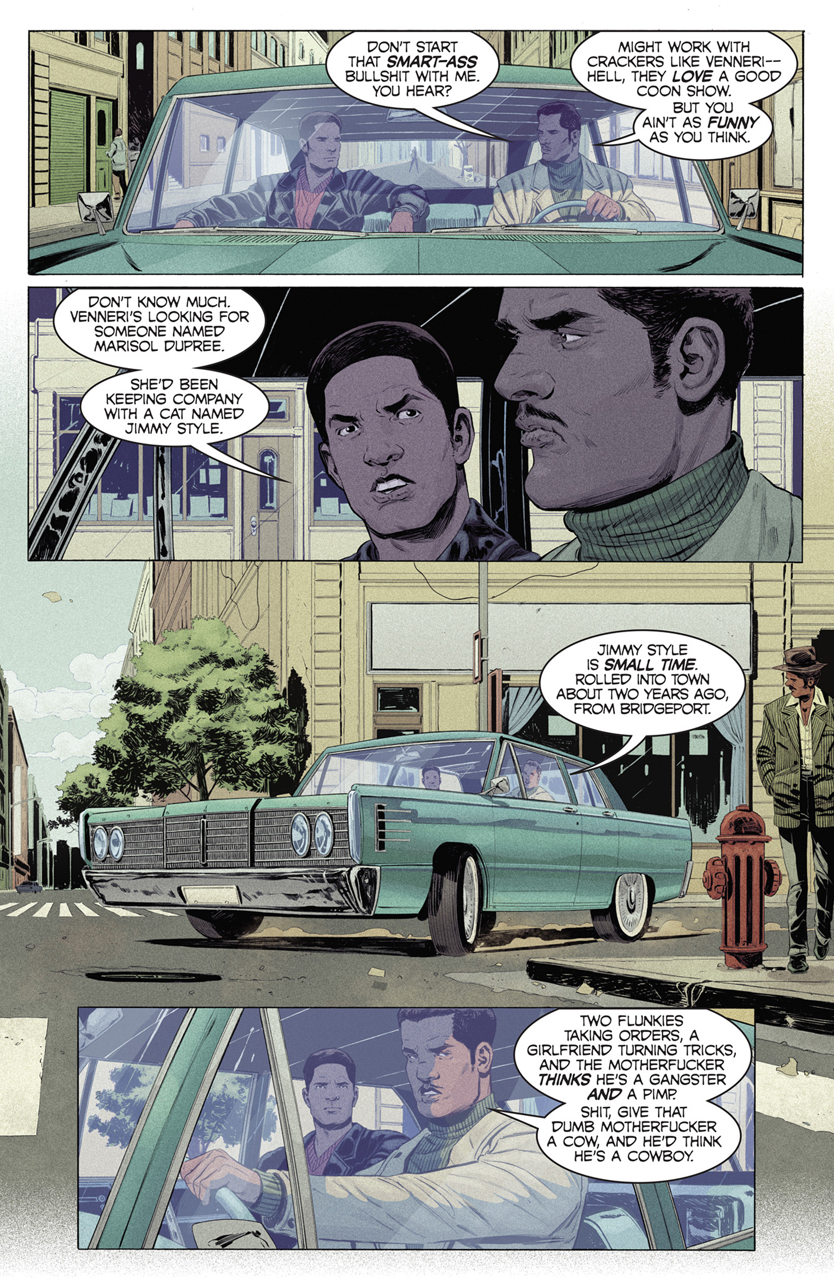 Read online Shaft comic -  Issue #4 - 9