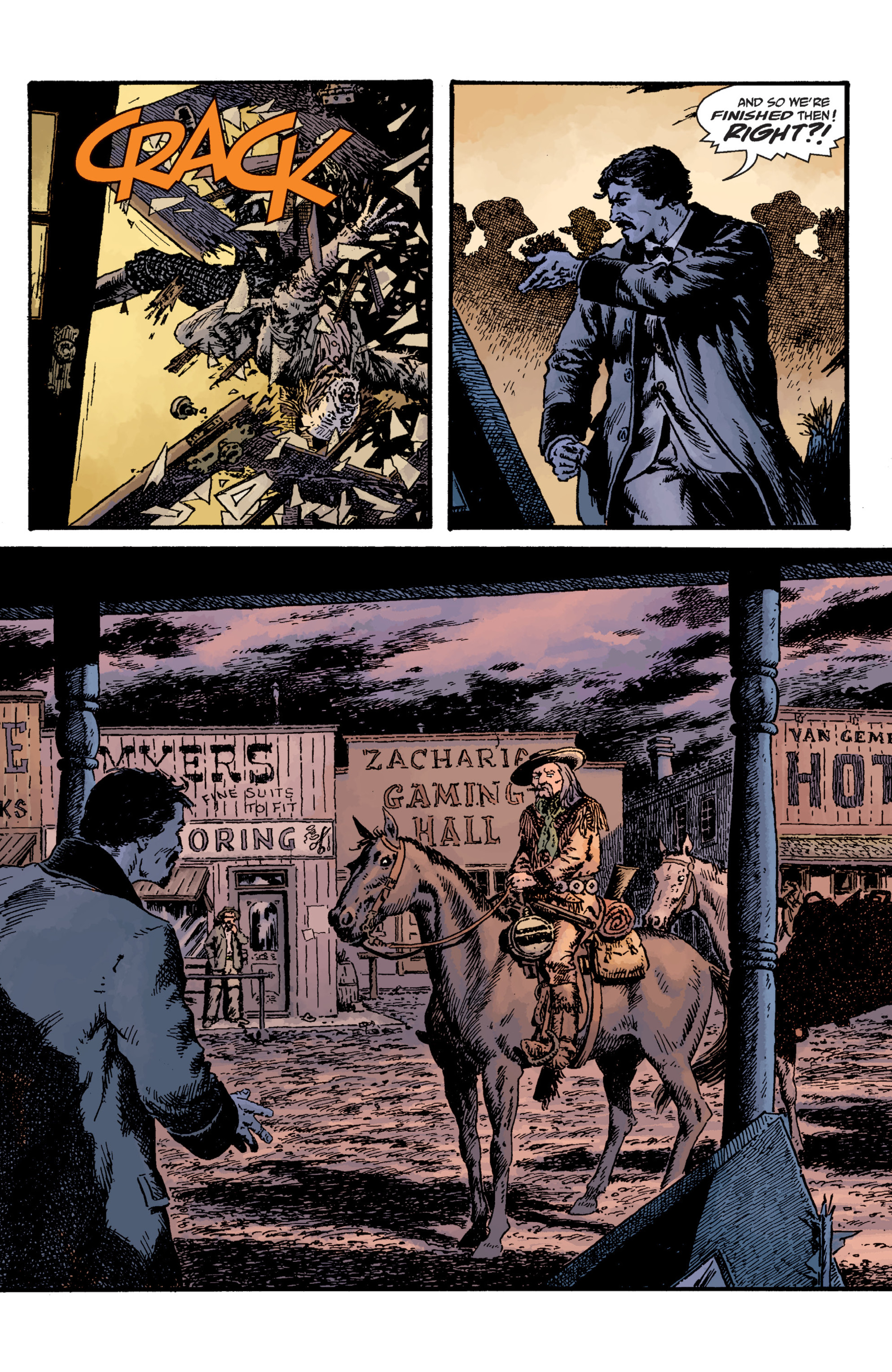 Read online Sir Edward Grey, Witchfinder: Lost and Gone Forever comic -  Issue # TPB - 20