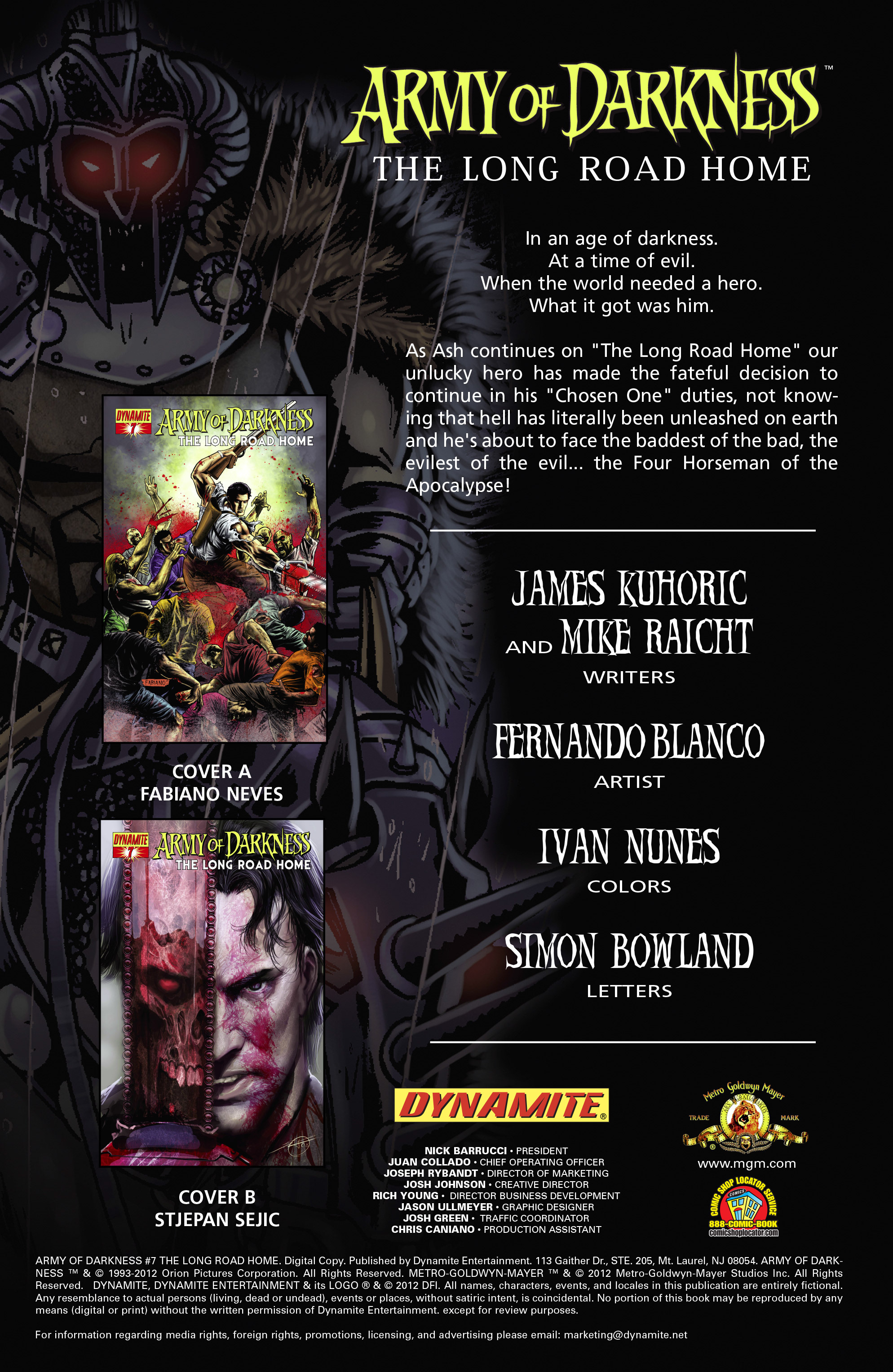 Read online Army of Darkness: The Long Road Home comic -  Issue #Army of Darkness: The Long Road Home TPB - 56