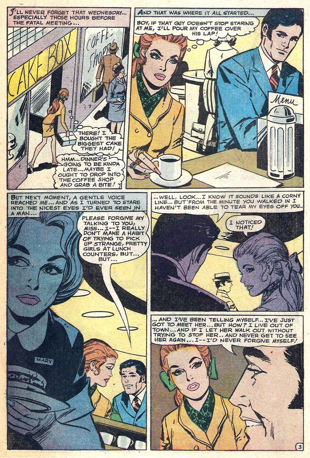 Read online Secret Hearts comic -  Issue #140 - 18
