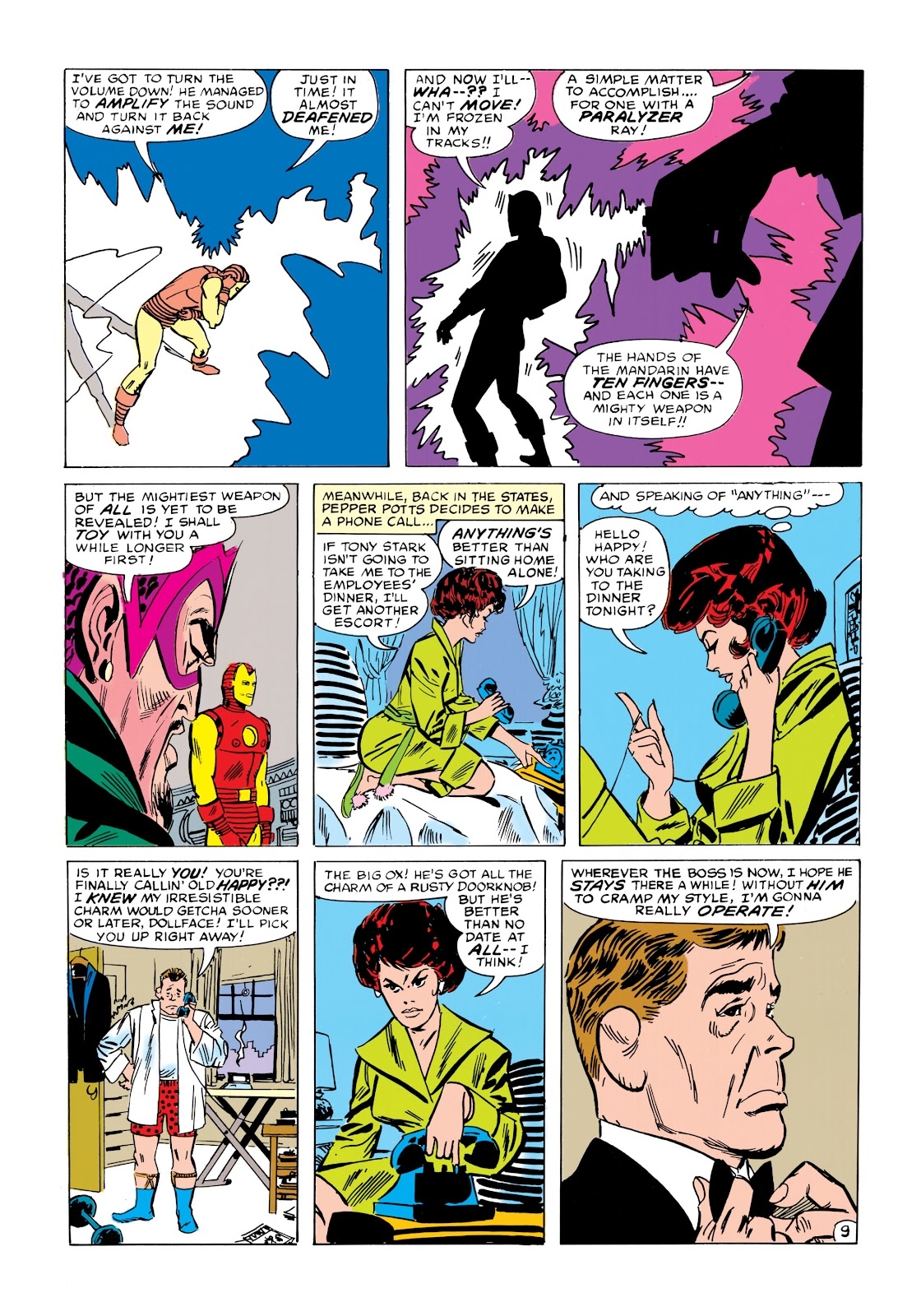 Read online Marvel Masterworks: The Invincible Iron Man comic -  Issue # TPB 1 (Part 2) - 86