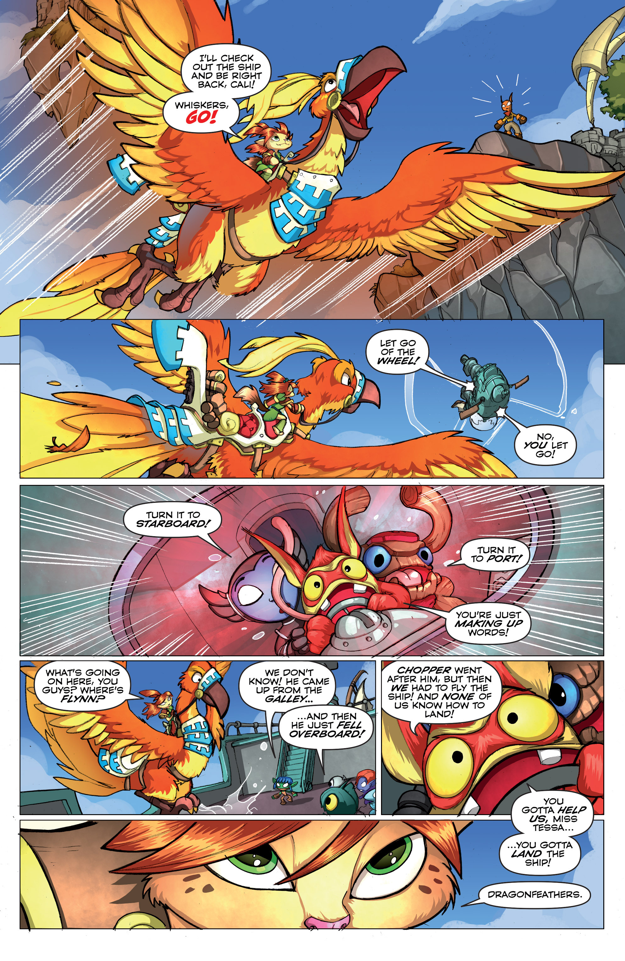 Read online Skylanders comic -  Issue #2 - 5