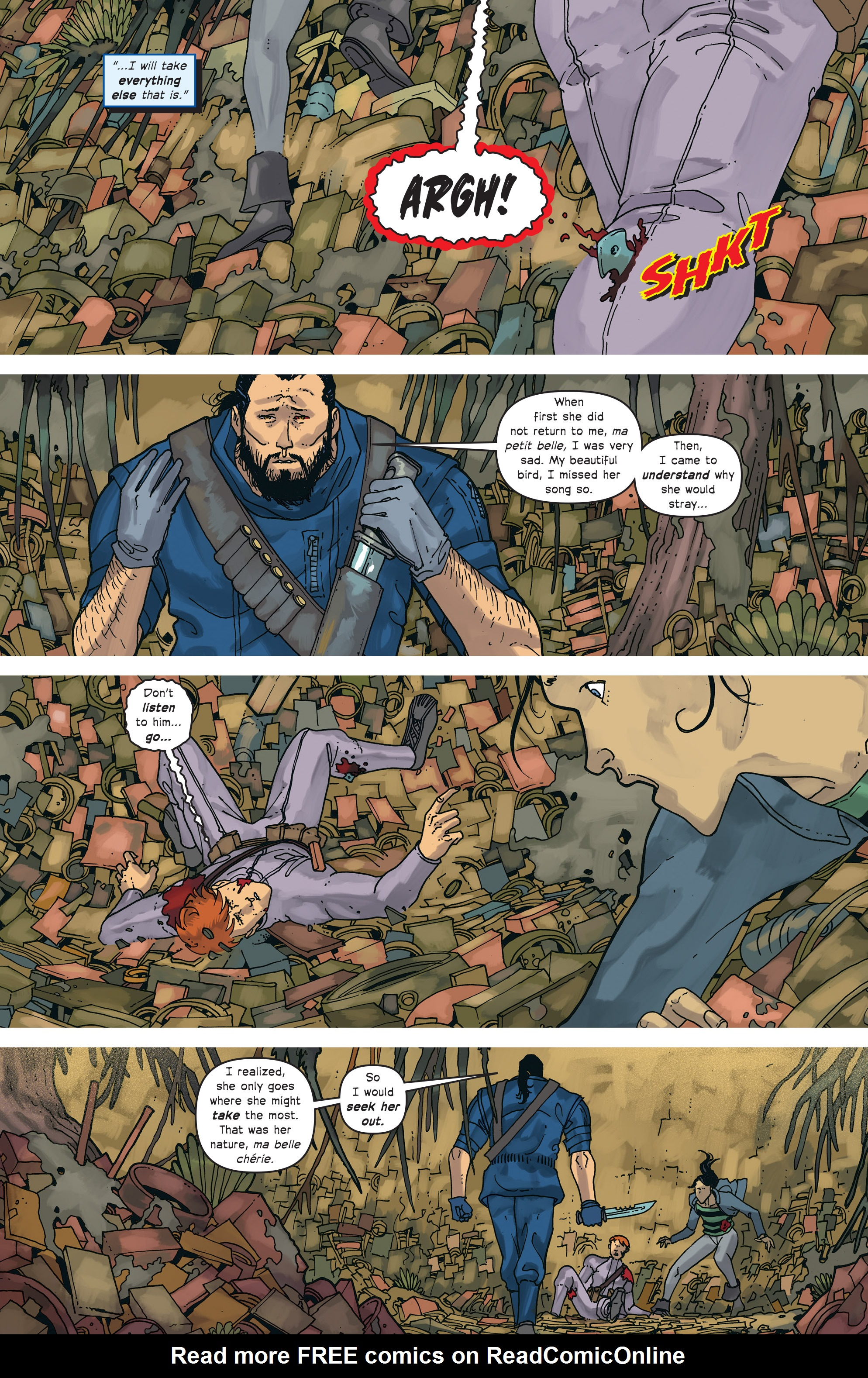 Read online Great Pacific comic -  Issue #18 - 6