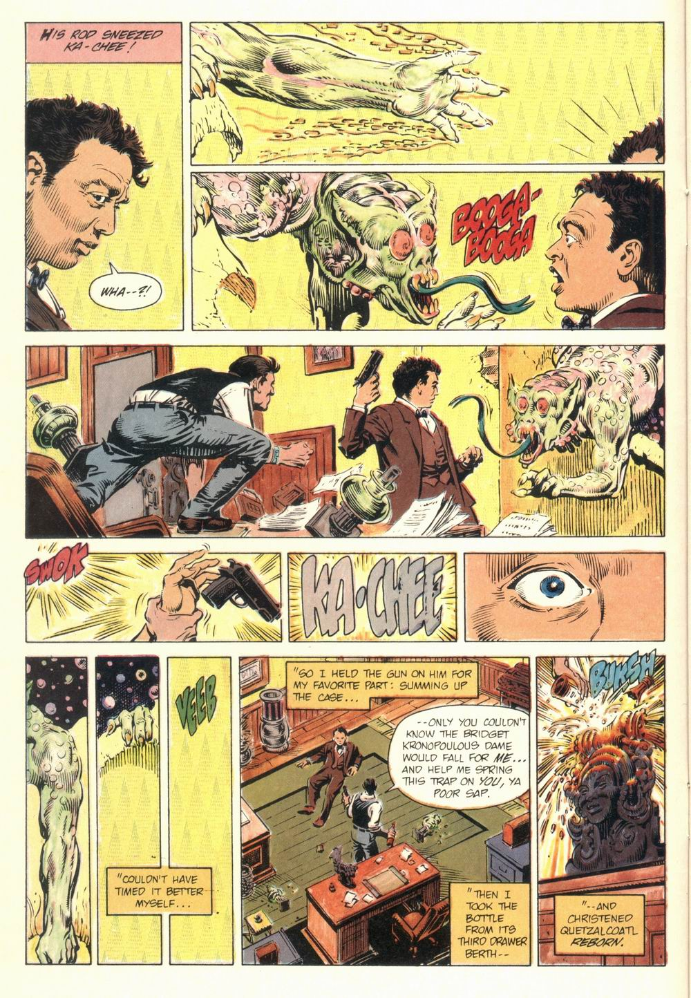 Read online Aztec Ace comic -  Issue #1 - 14