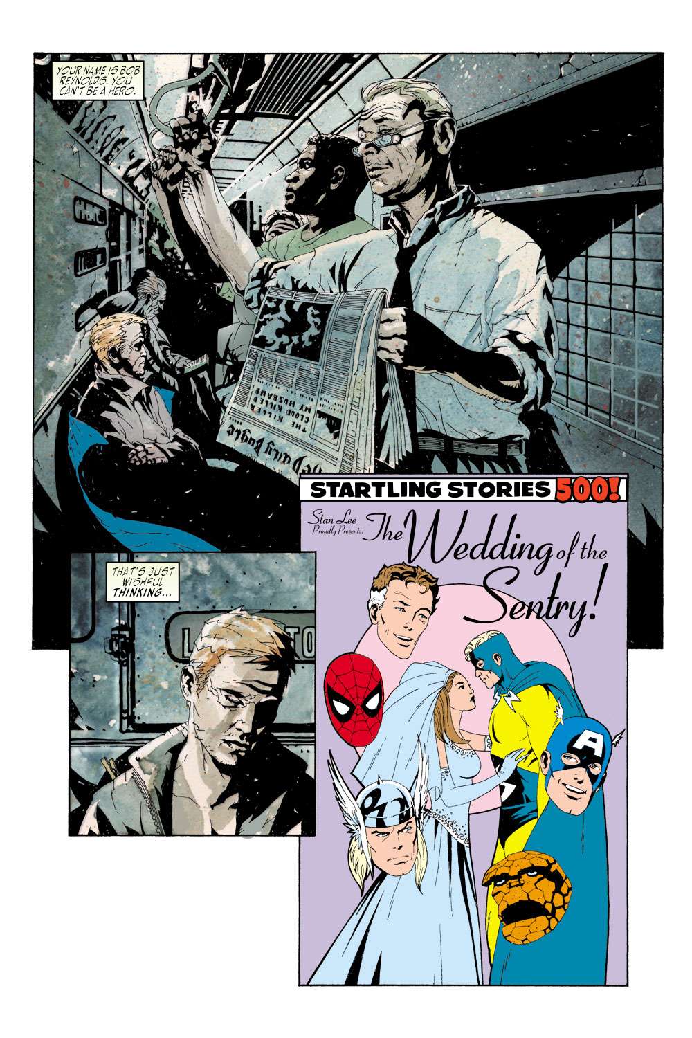 Read online Sentry (2000) comic -  Issue #2 - 12