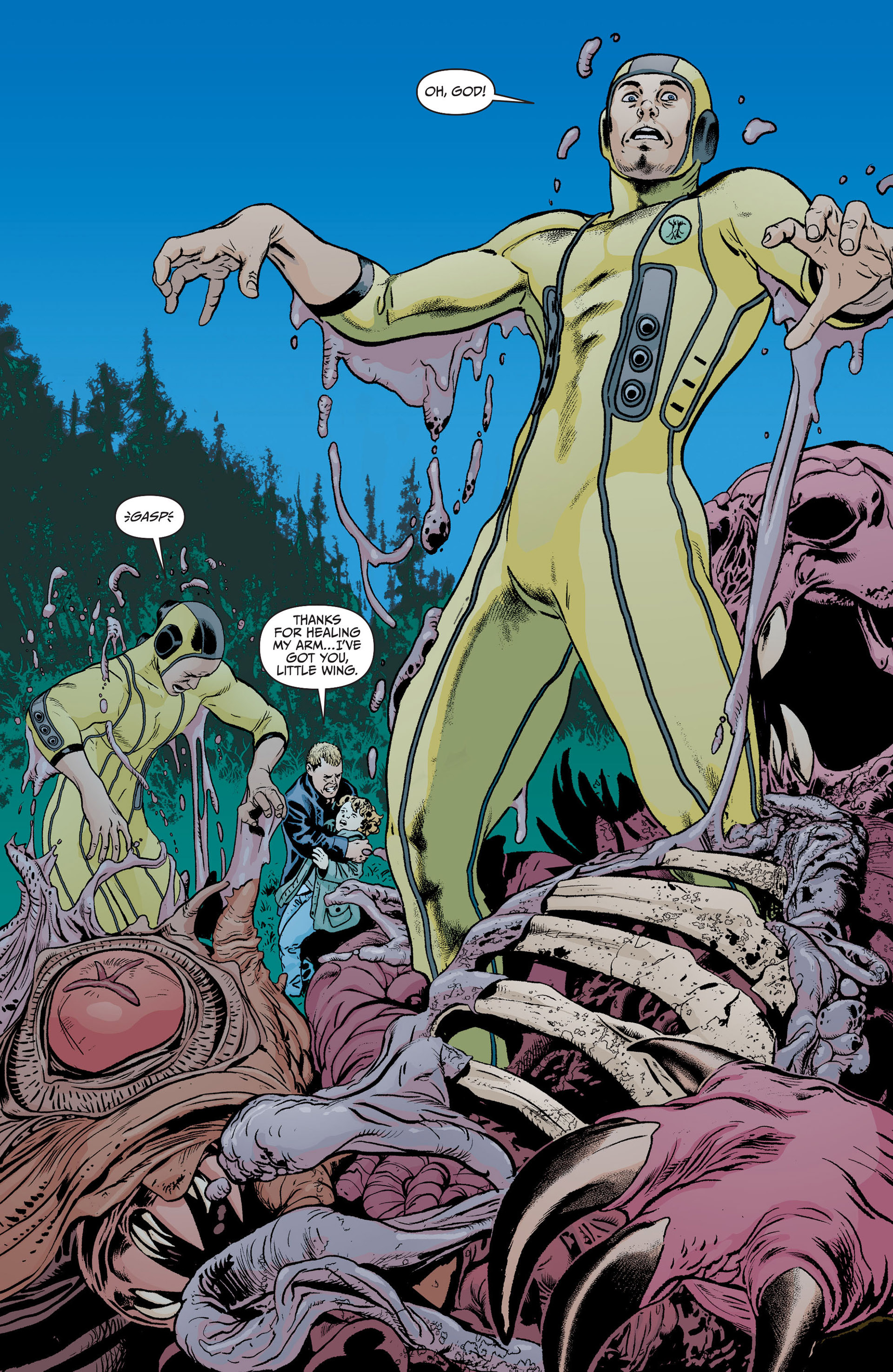 Read online Animal Man (2011) comic -  Issue #18 - 16
