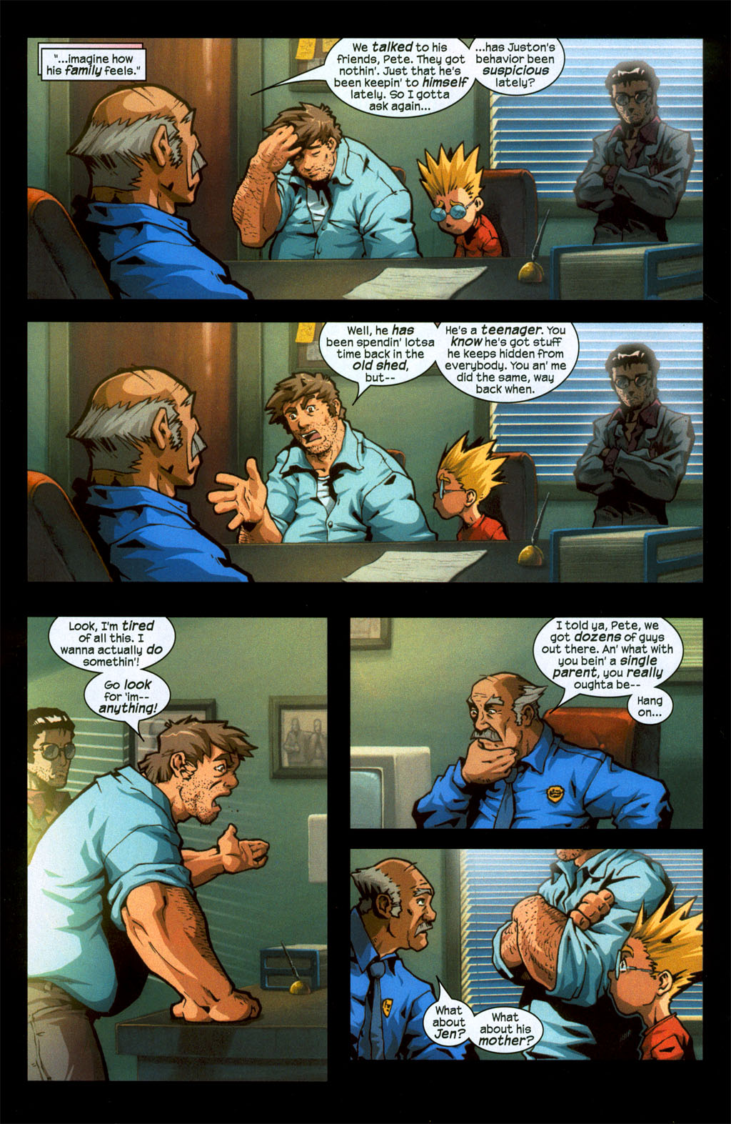 Read online Sentinel (2006) comic -  Issue #1 - 11