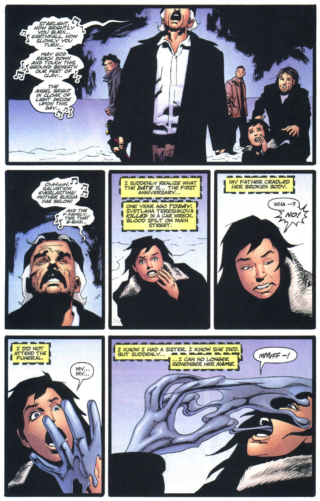 Wildcats (1999) Issue #13 #14 - English 10
