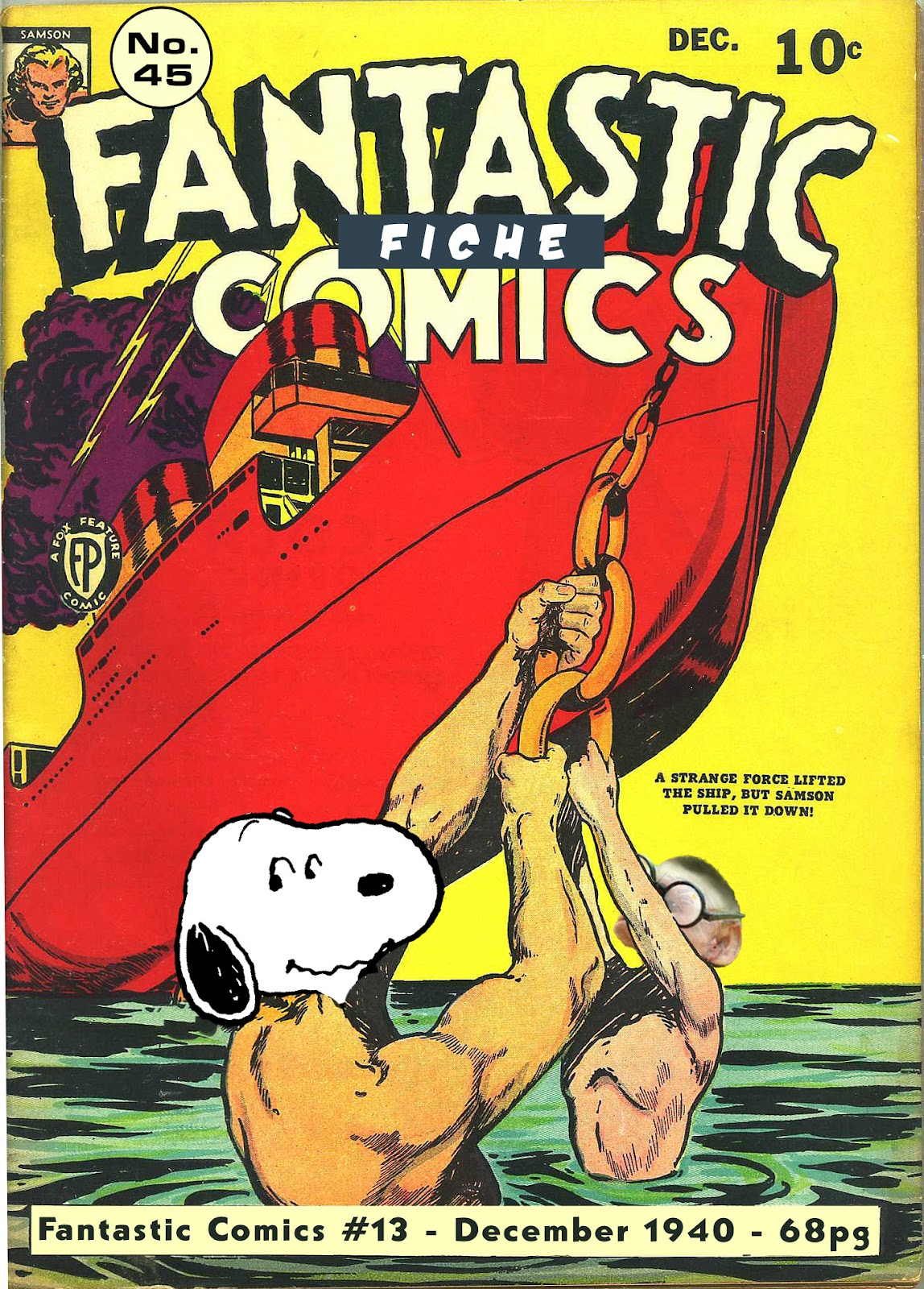Read online Fantastic Comics comic -  Issue #13 - 1