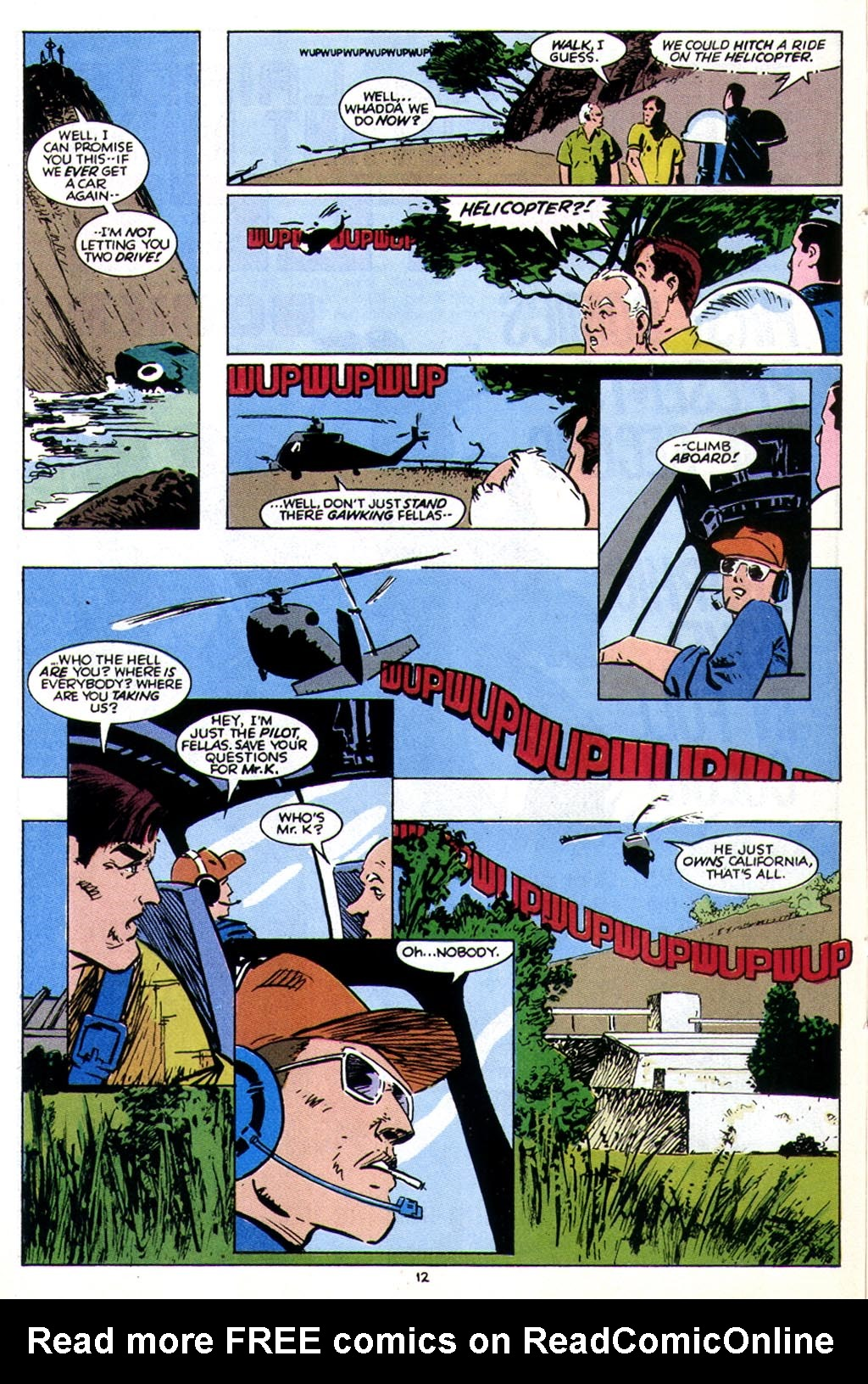 Read online American Flagg! comic -  Issue #43 - 16