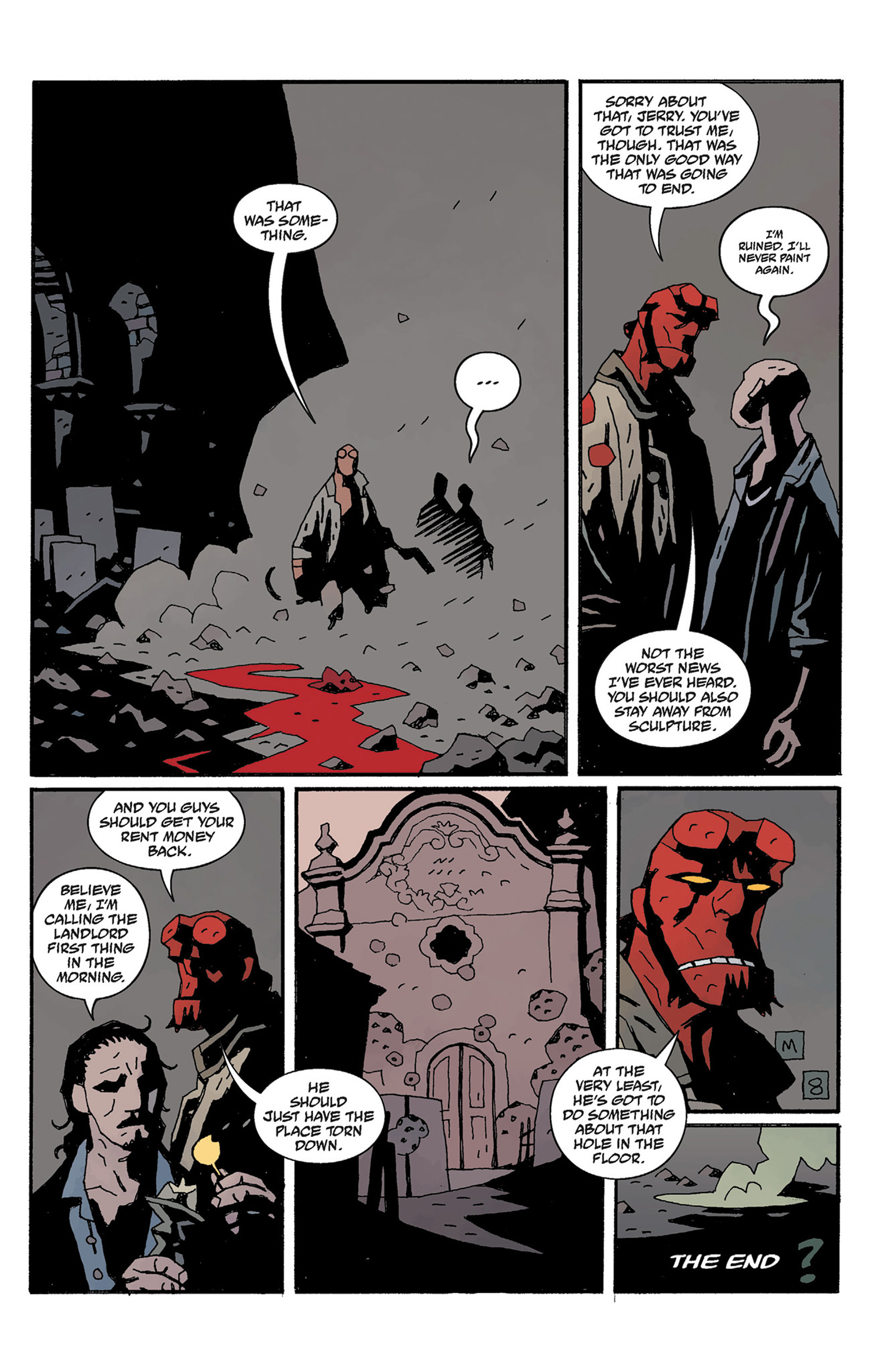 Read online Hellboy: The Crooked Man and Others comic -  Issue # TPB - 133