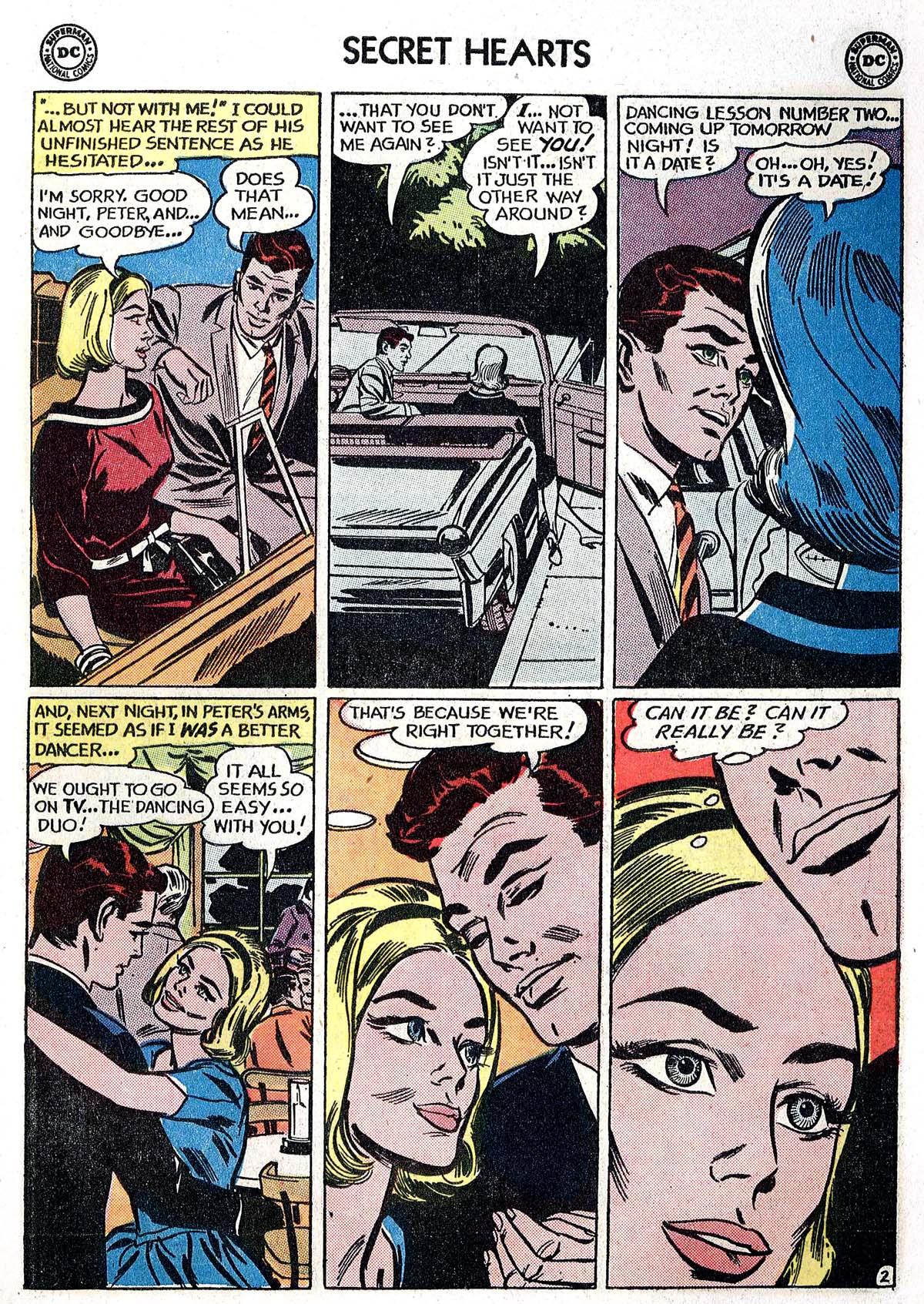 Read online Secret Hearts comic -  Issue #82 - 19