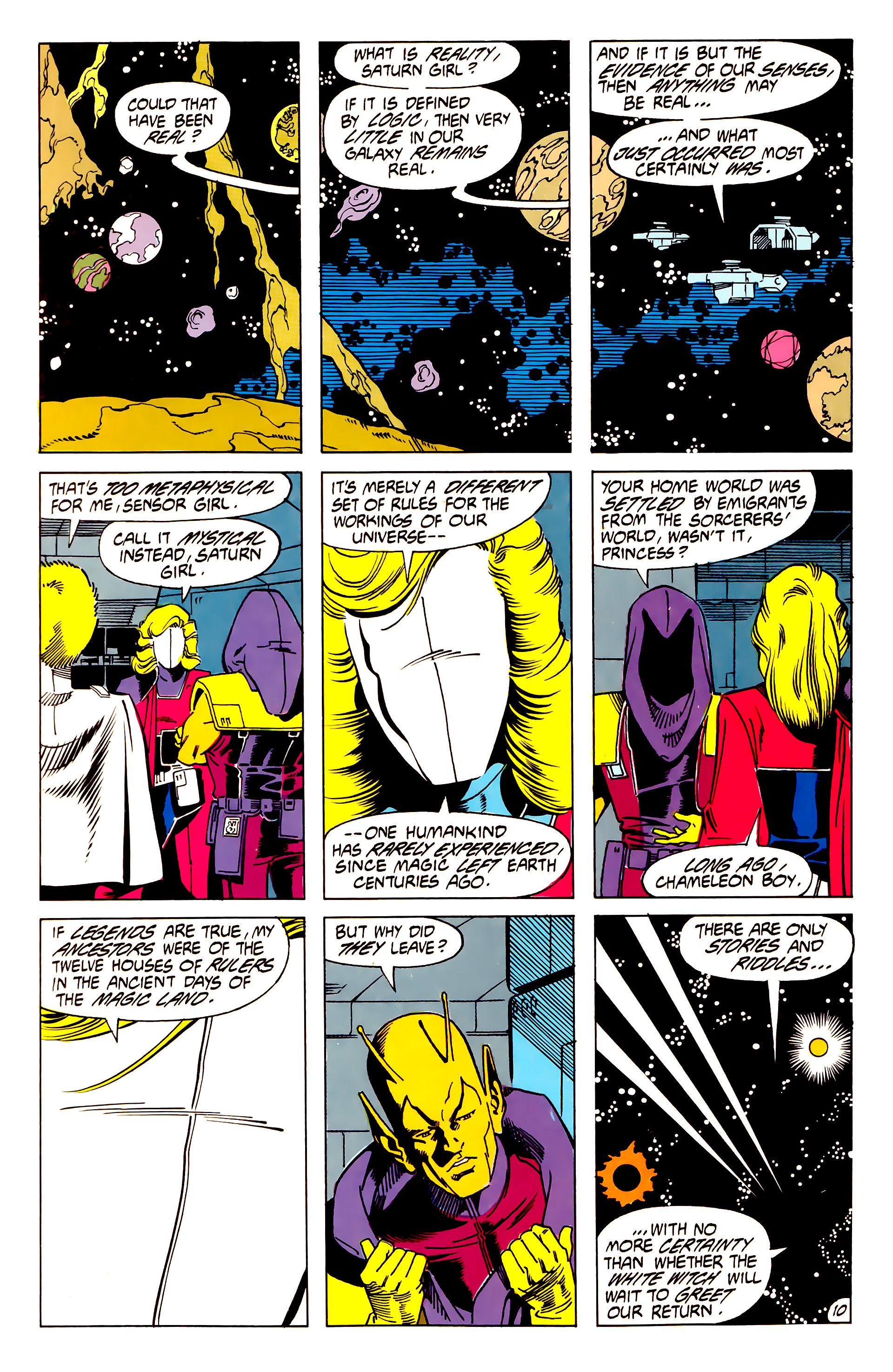 Legion of Super-Heroes (1984) 62 Page 10