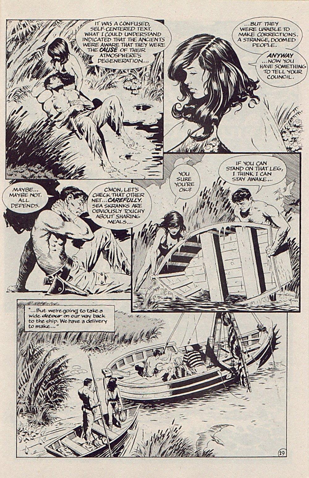 Read online Xenozoic Tales comic -  Issue #5 - 22
