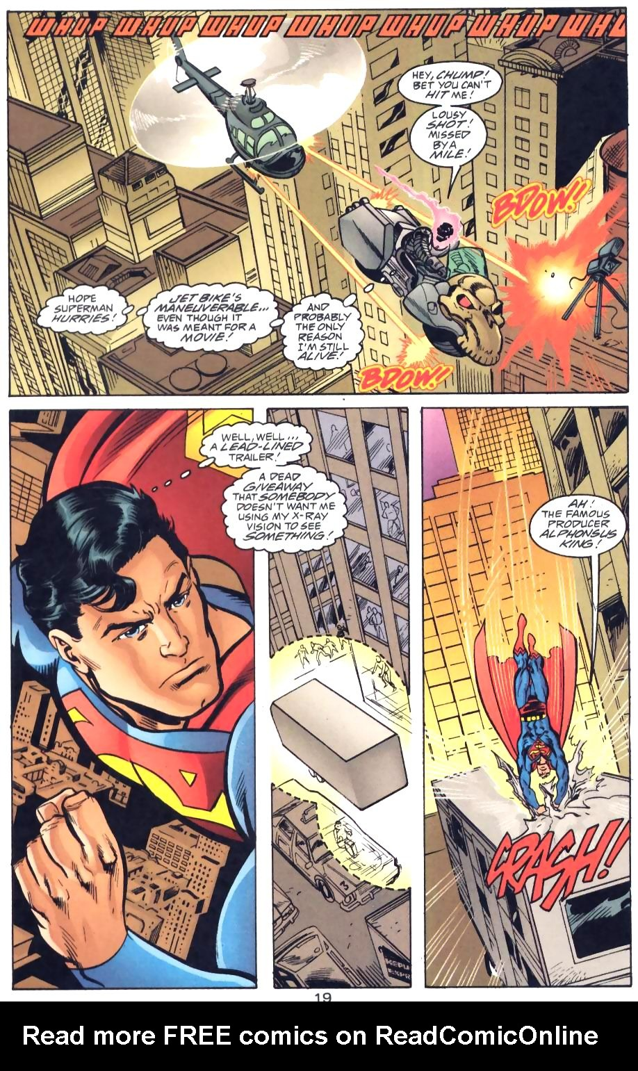 Read online Adventures of Superman (1987) comic -  Issue #571 - 21