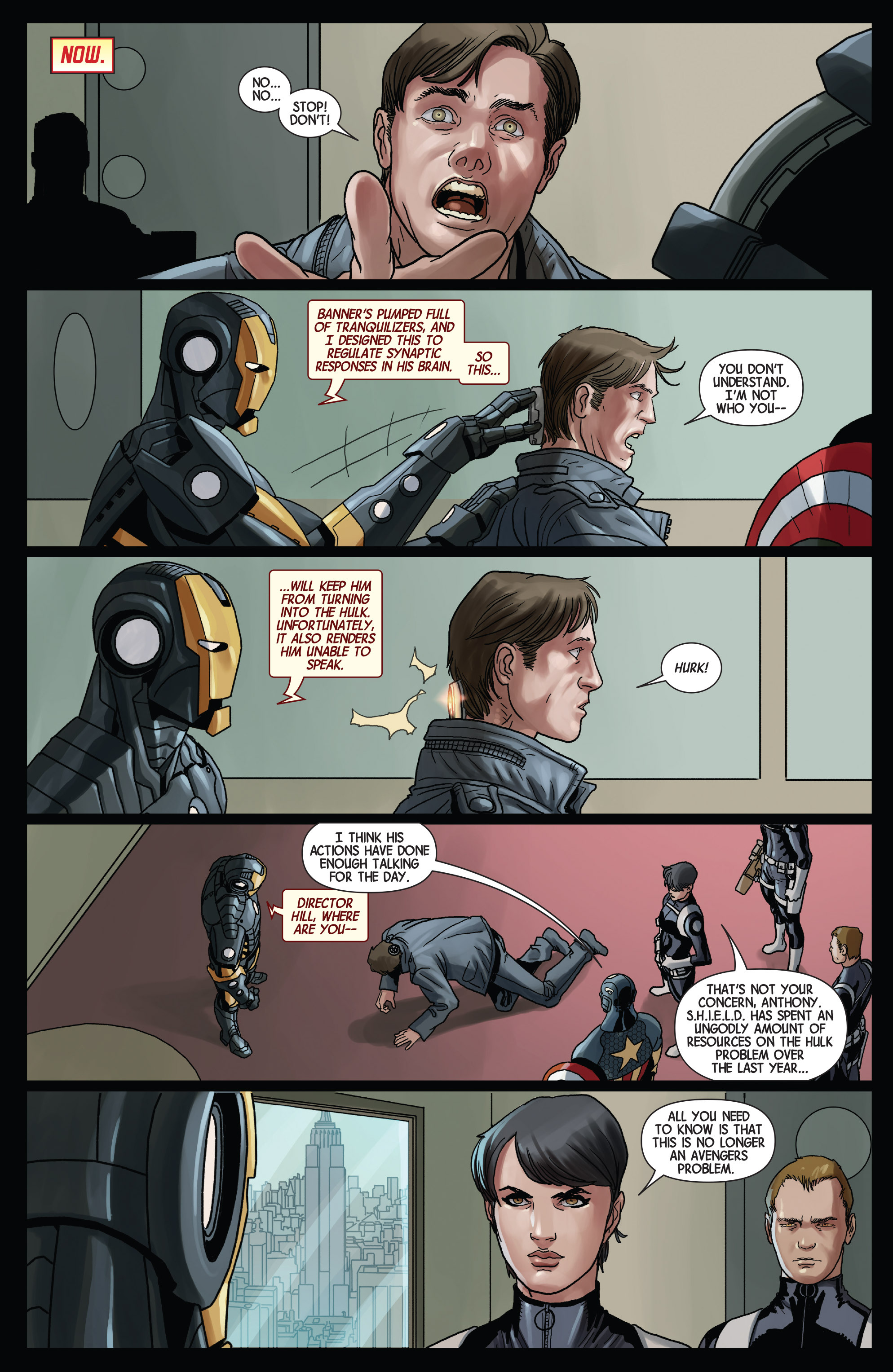 Read online Avengers (2013) comic -  Issue #Avengers (2013) _TPB 5 - 153