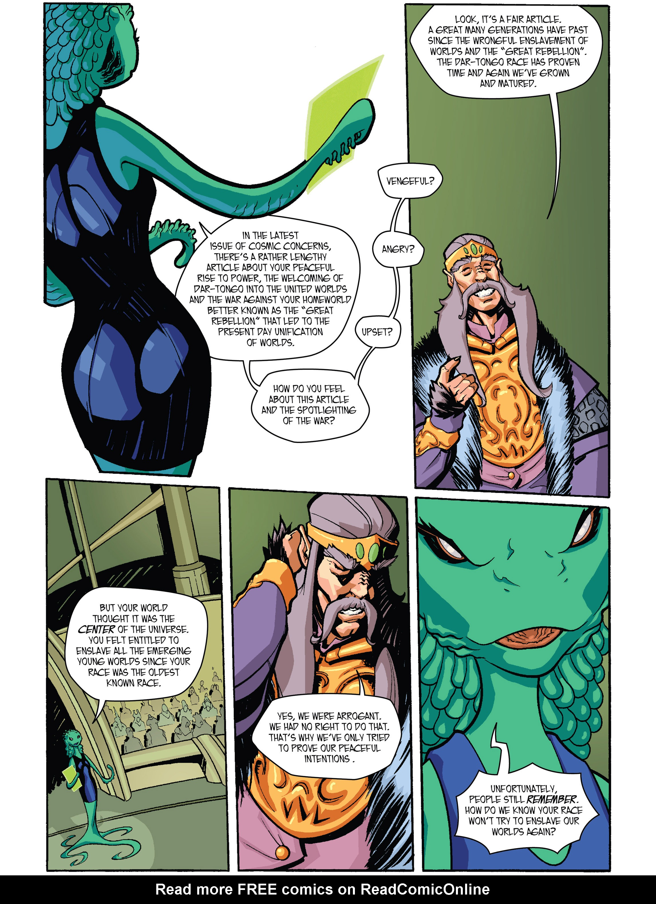 Read online Amber Atoms comic -  Issue #1 - 6