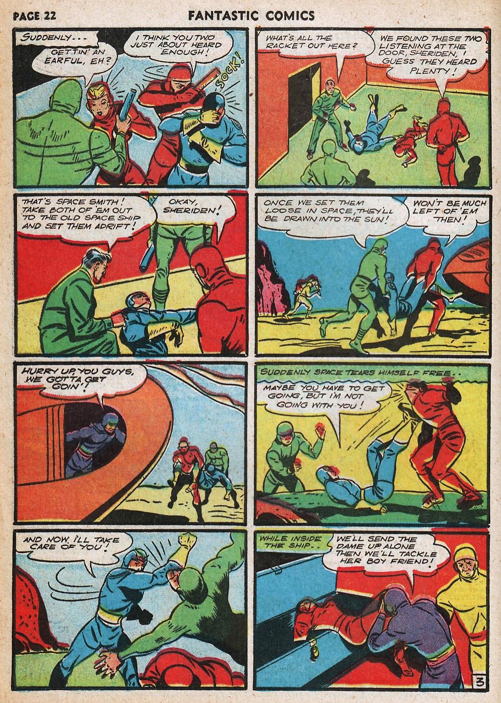 Read online Fantastic Comics comic -  Issue #20 - 23